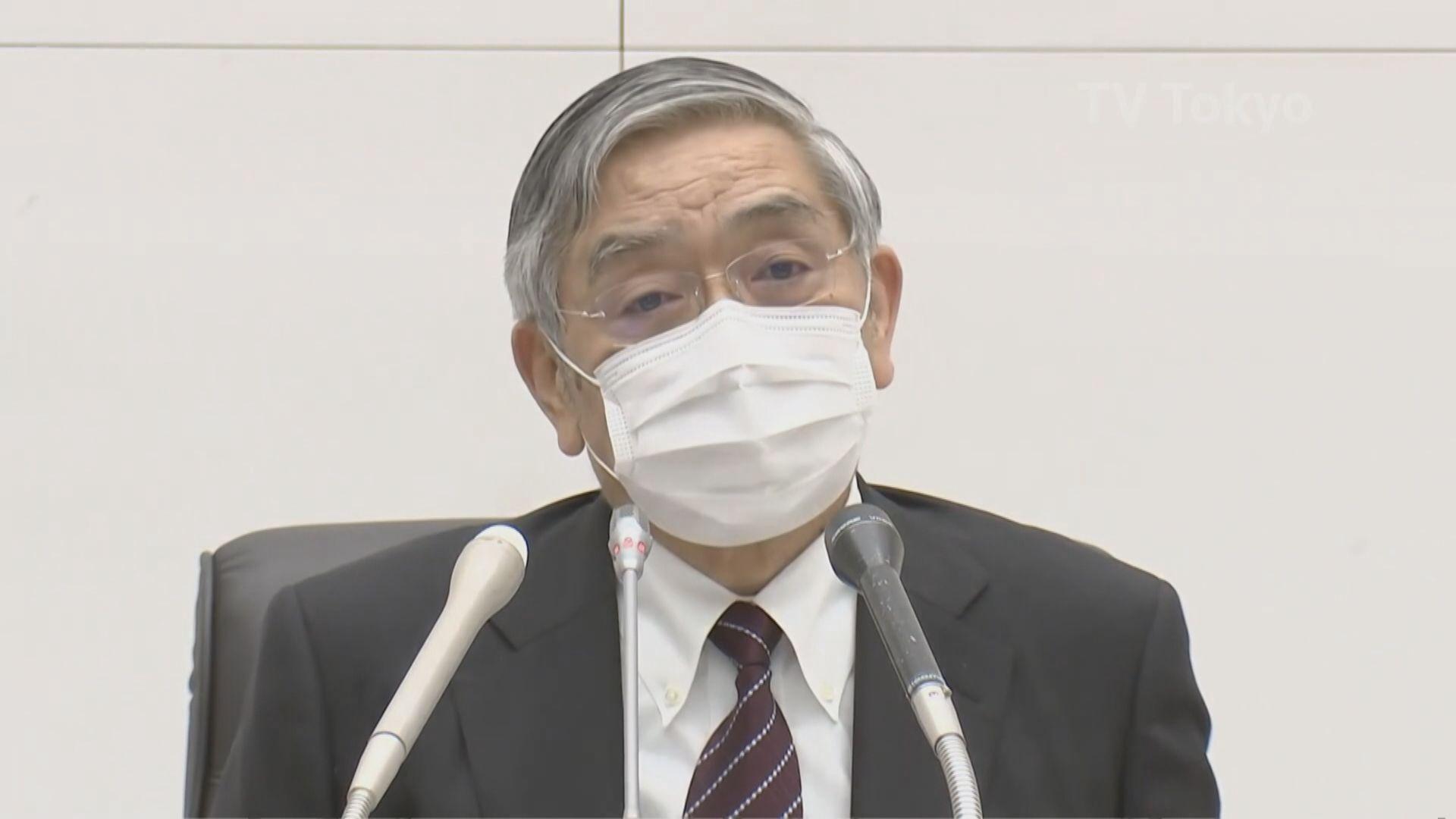 【央行議息】日央行行長:最大程度寬鬆措施防經濟大幅下滑