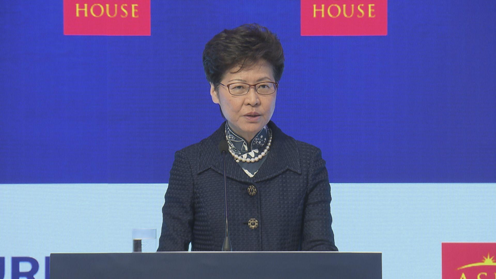 【持續慘淡】林鄭:本港全年經濟增幅不會比上半年好