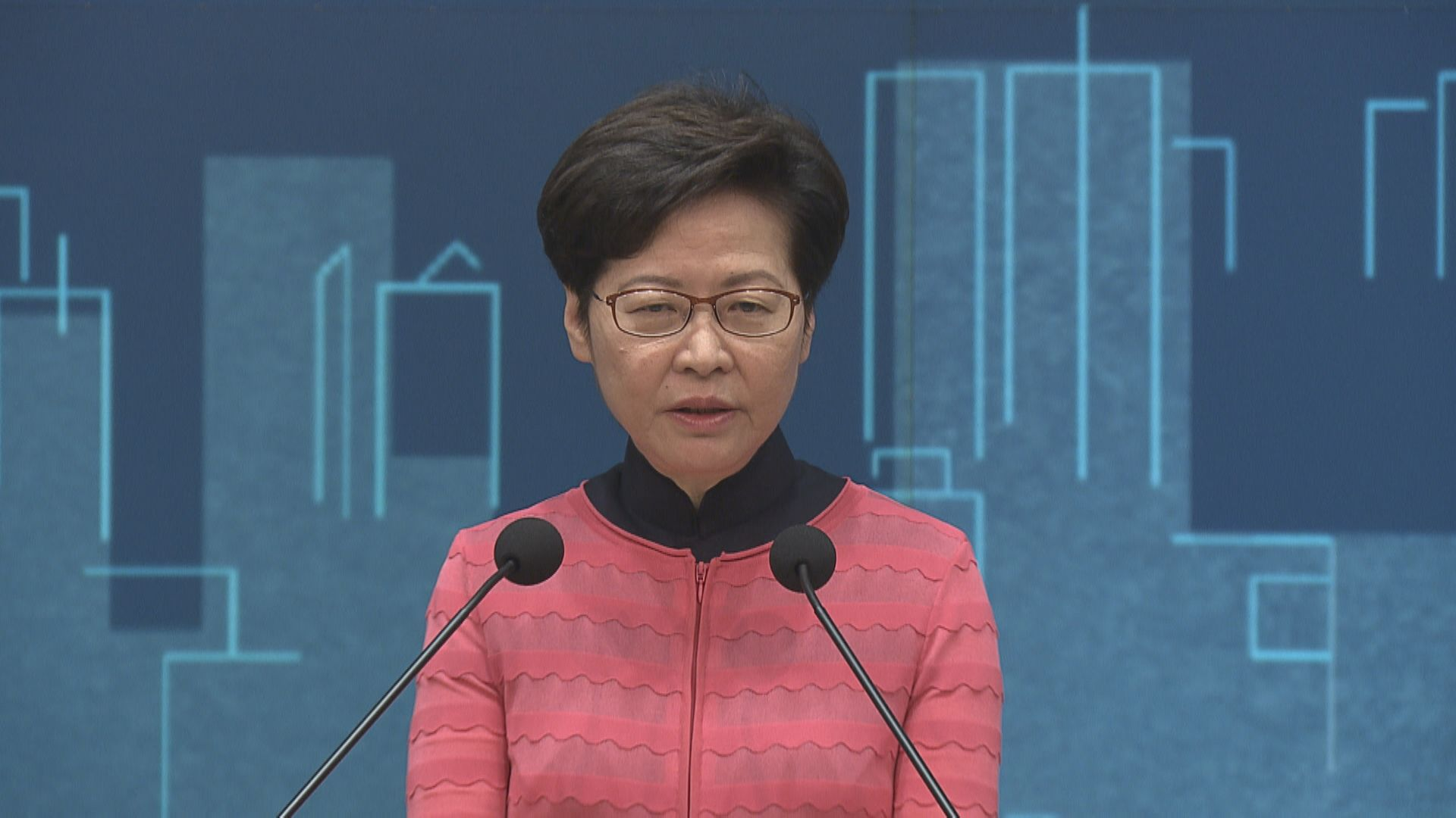 林鄭:公私營合作解決土地問題