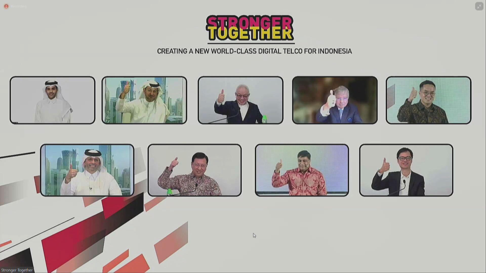 【協同效應】長和與Ooredoo合併印尼電訊業務!霍建寧:成當地最佳網絡