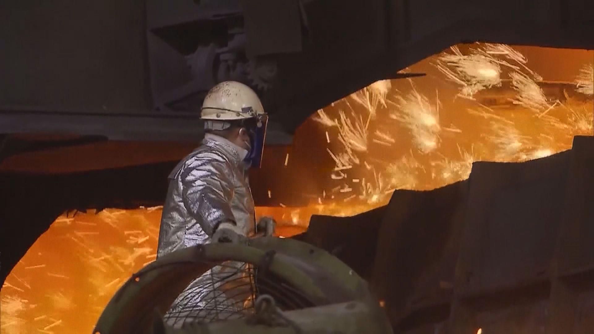 鐵礦石期貨飆9%  螺紋鋼漲停