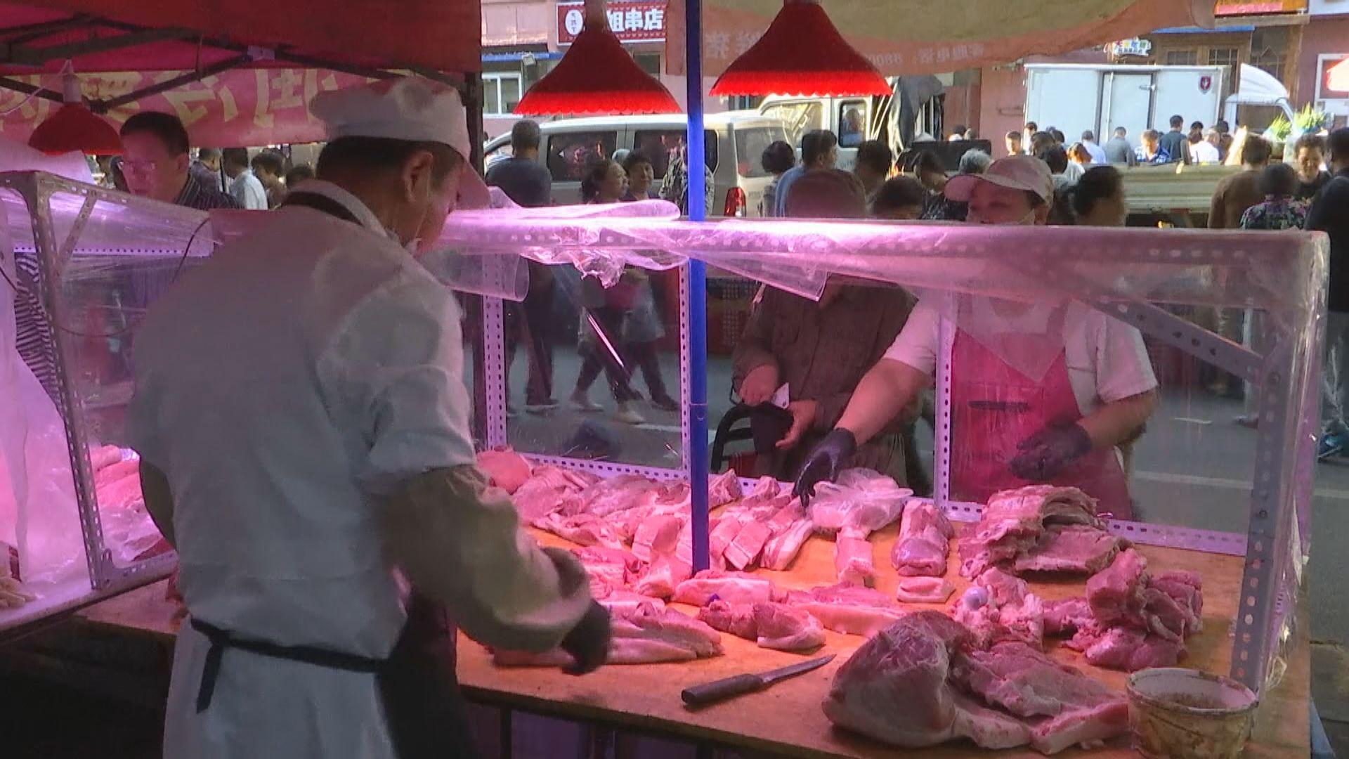 【通脹高企】內地豬肉價格按年急升近50%