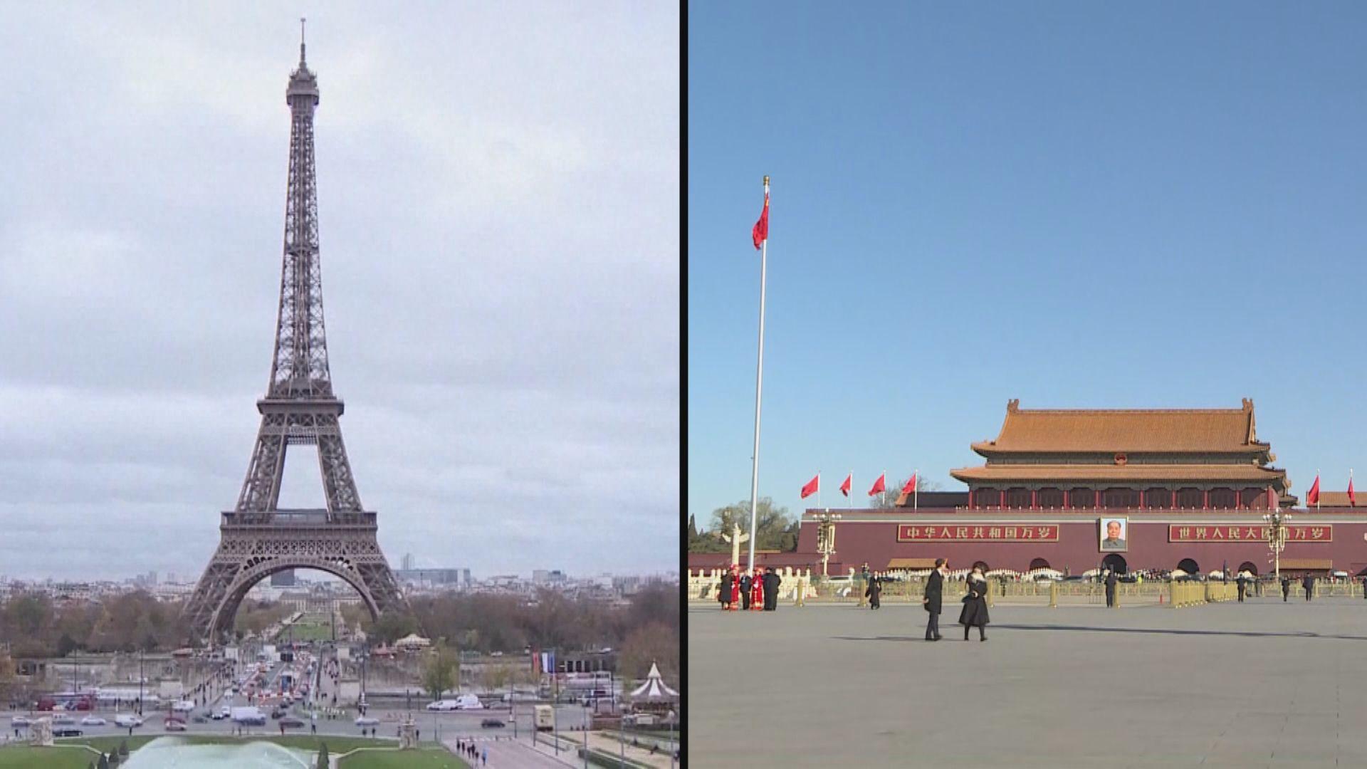 中法兩國承諾加強各領域的合作