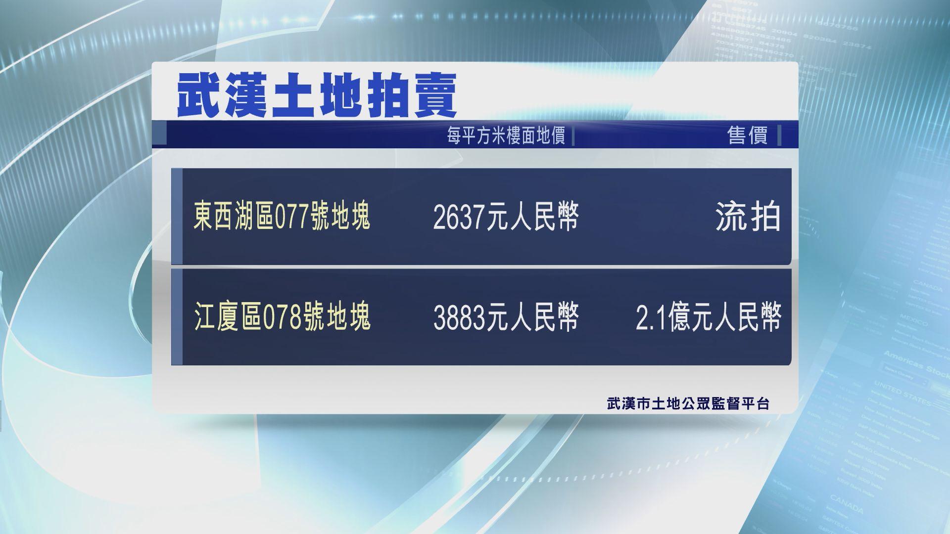 【怕調控?】武漢東西湖區商住地流拍