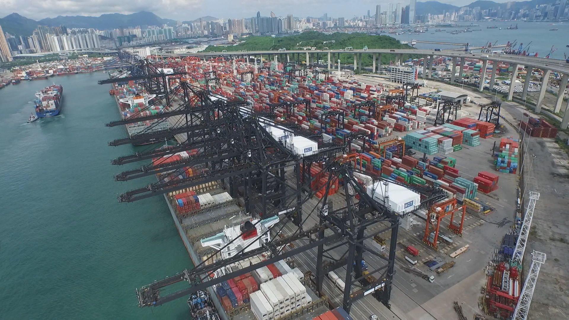 【8月貿易數據勝預期】政府:尚中美摩擦升級勢增出口下行壓力