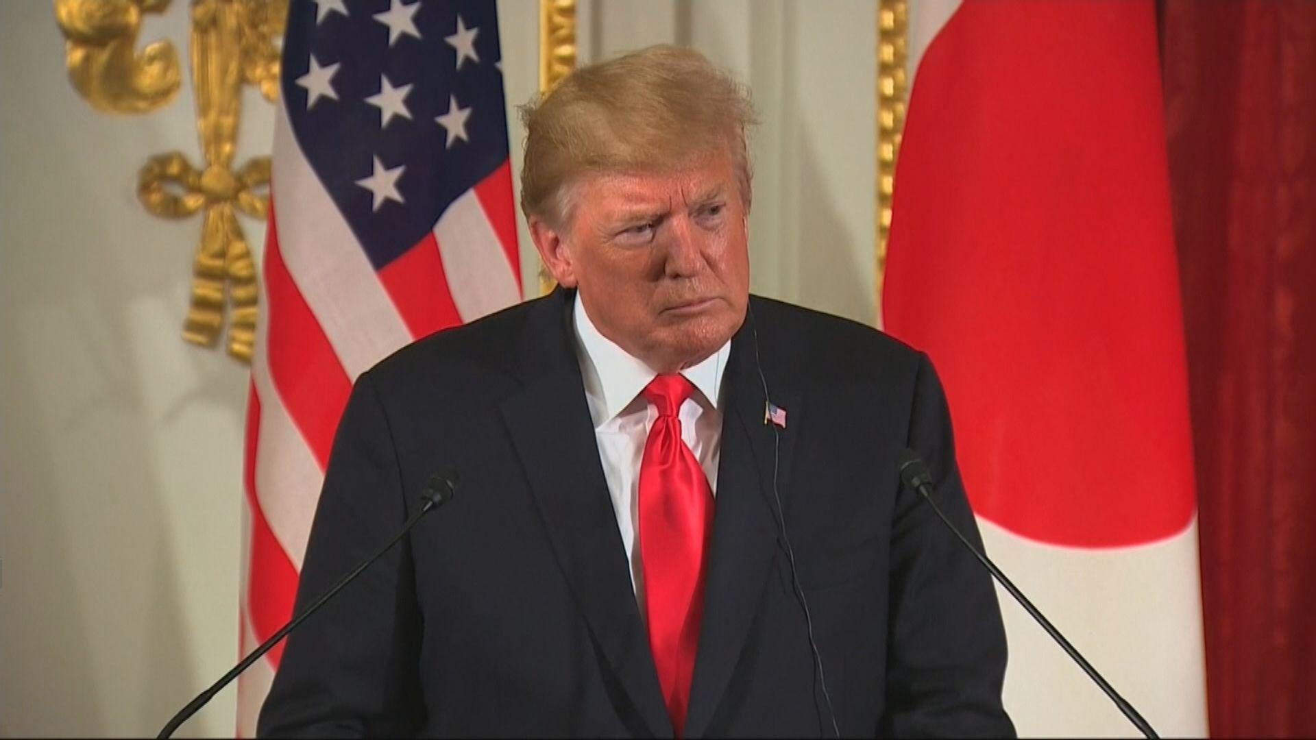【中美貿戰】特朗普:未準備好與中國達成協議