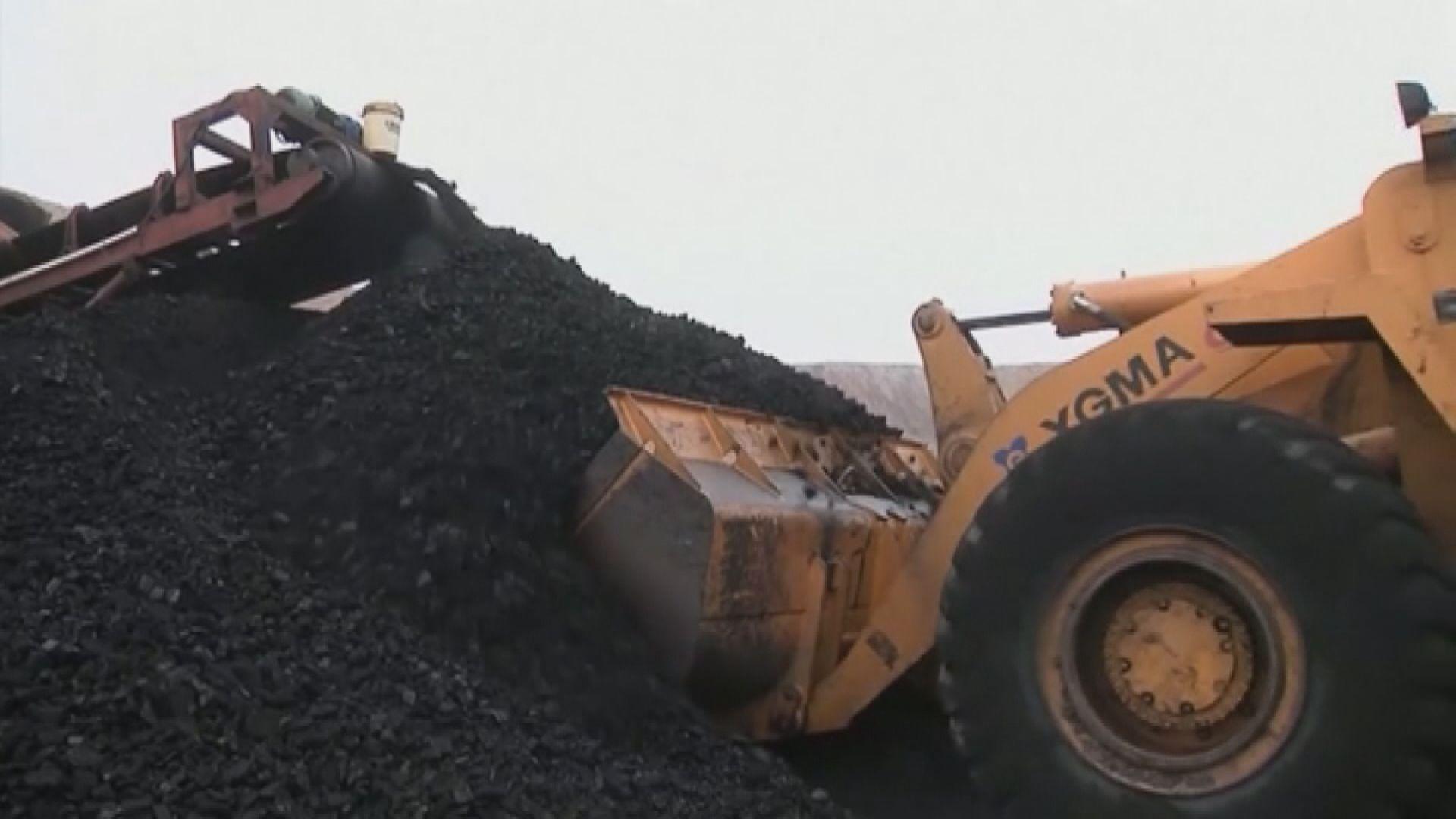 內地煤炭價格上升