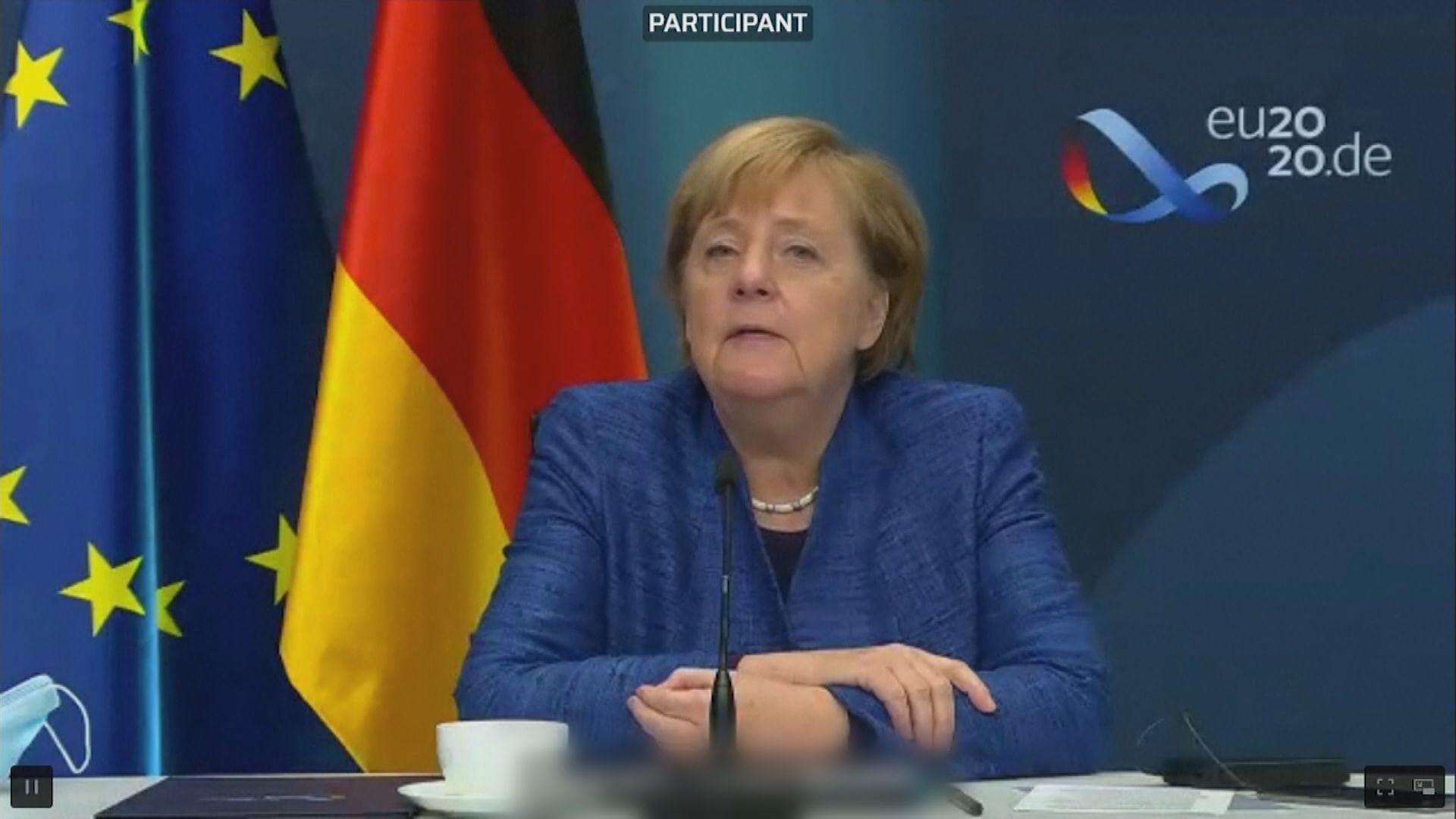 德國默克爾警告 要為英國無協議脫歐做準備