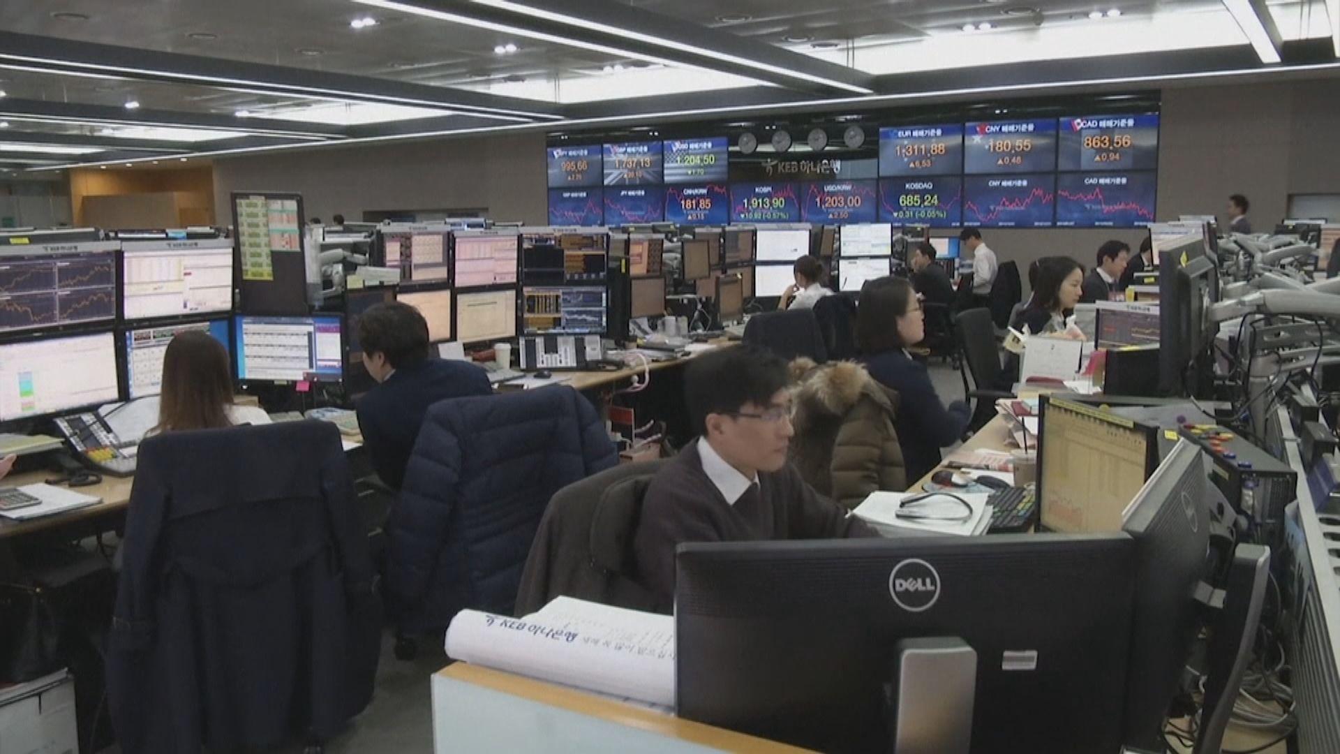 【金升匯油跌】金價見逾七年高 南韓股匯齊受