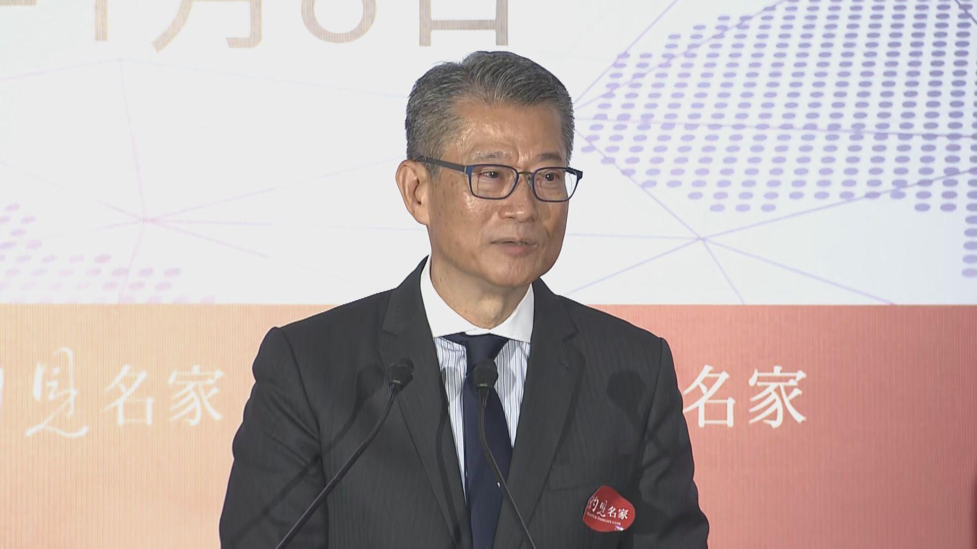 【財政預算案】陳茂波:派消費券及派錢有難度