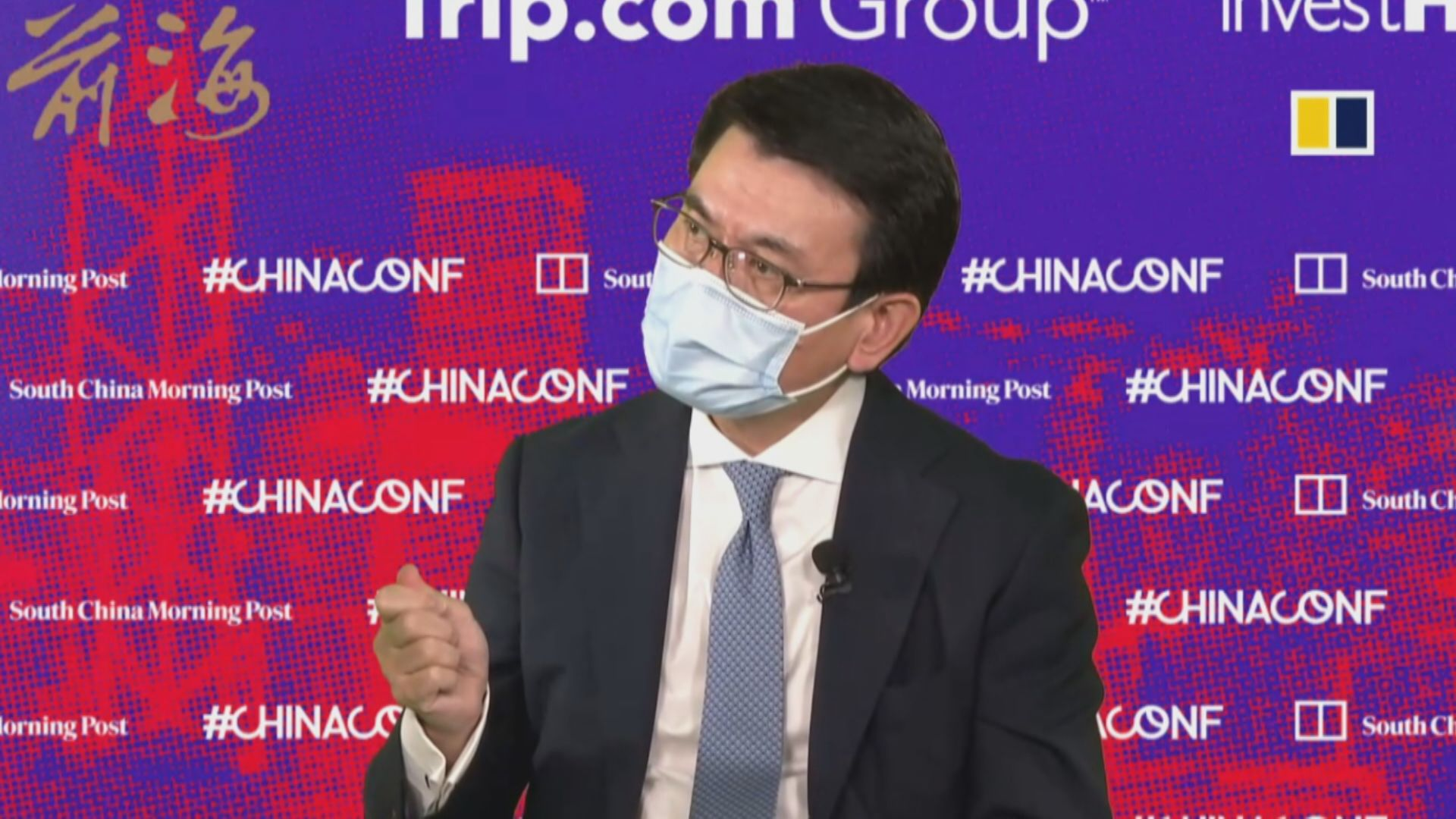 邱騰華:有必要解釋國安法紅線釋外商疑慮