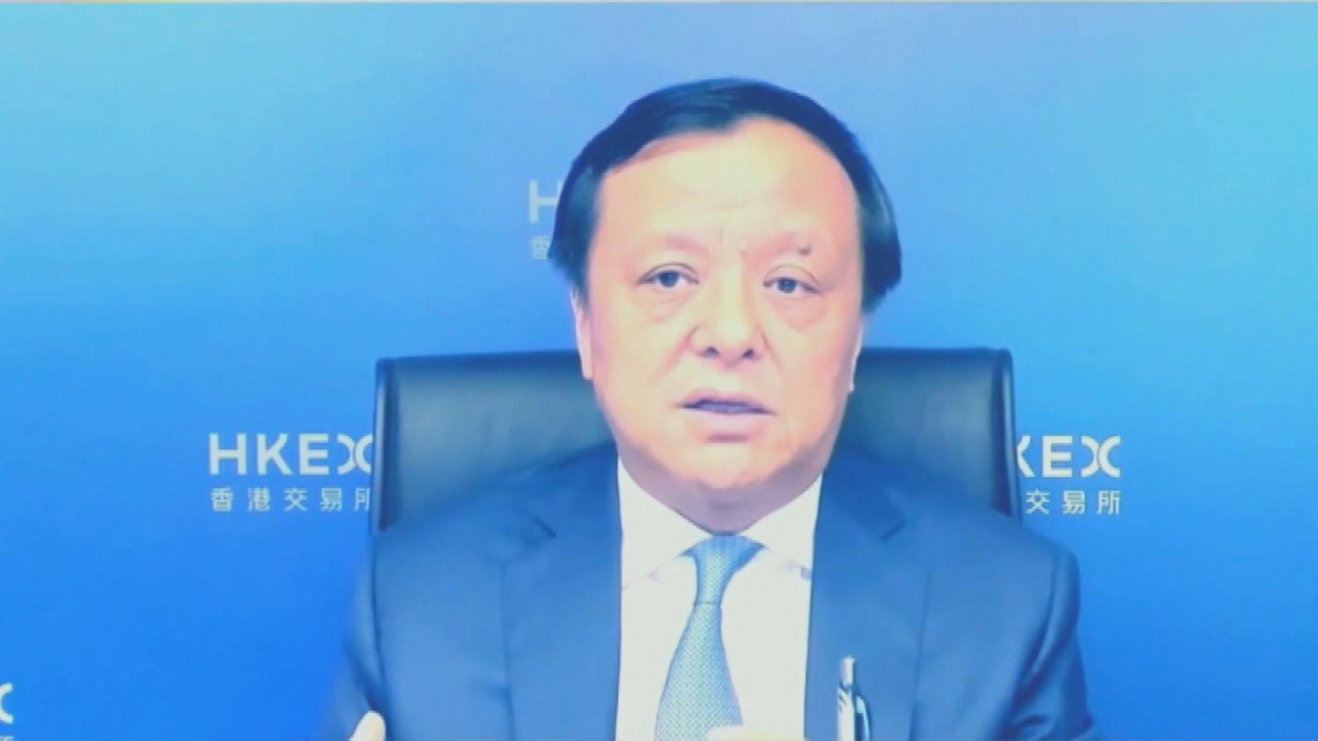 李小加:港交所近年積極科技轉型