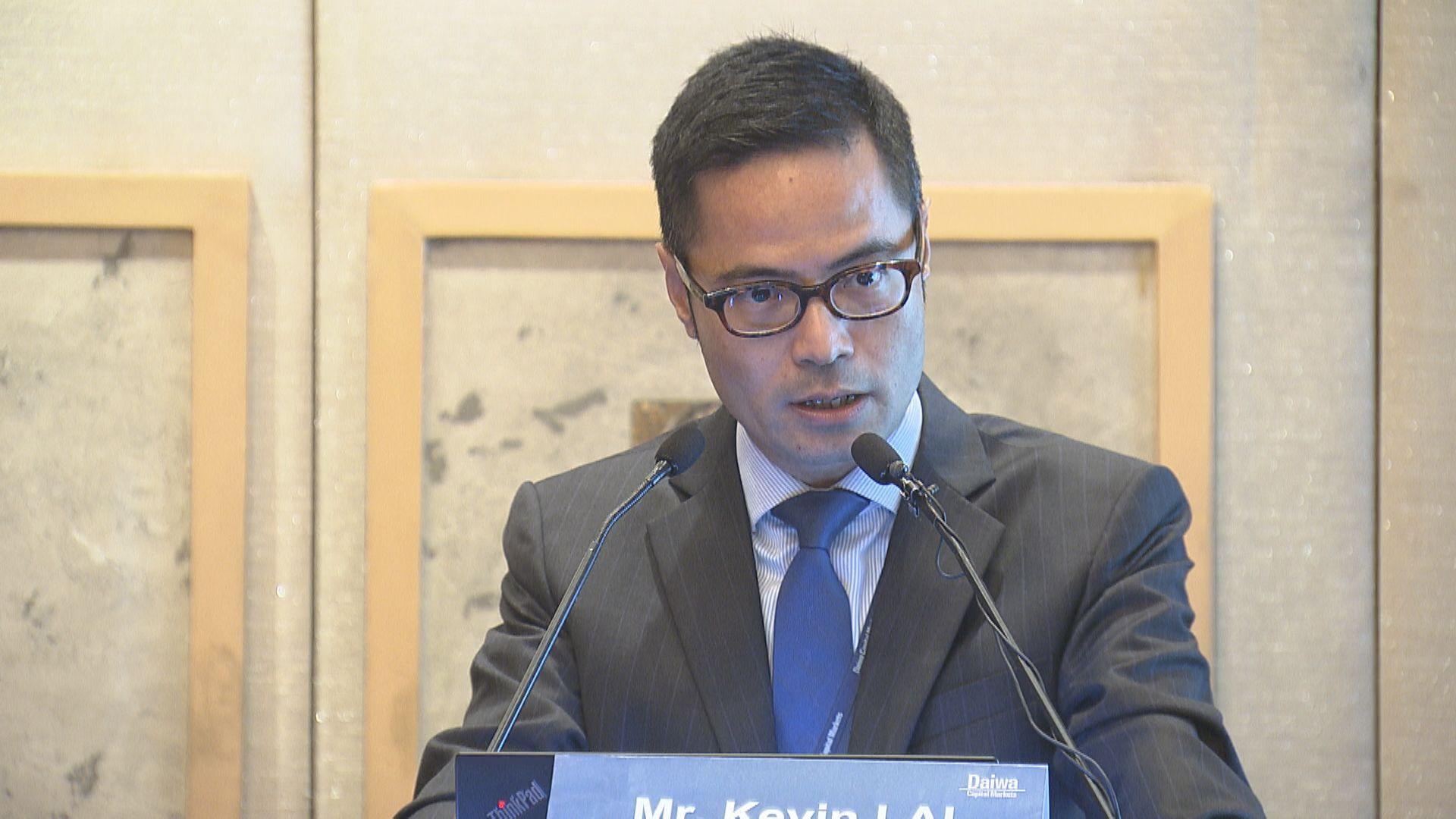 賴志文:港經濟重要環節未改善