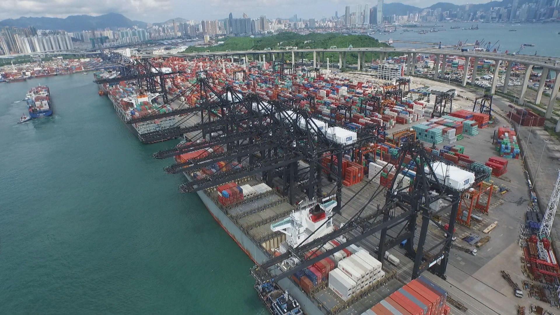 【連跌十個月】本港8月整體出口跌6.3%