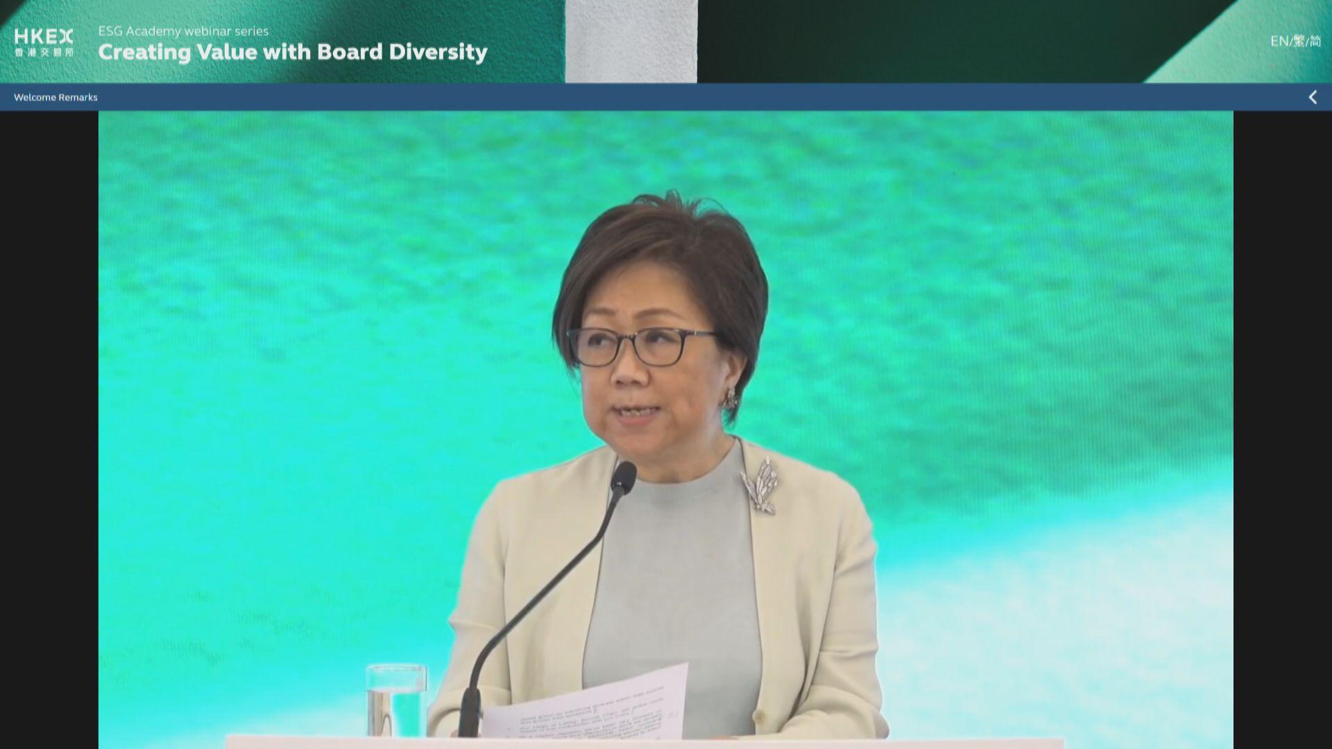 史美倫:ESG推動企業架構多元化
