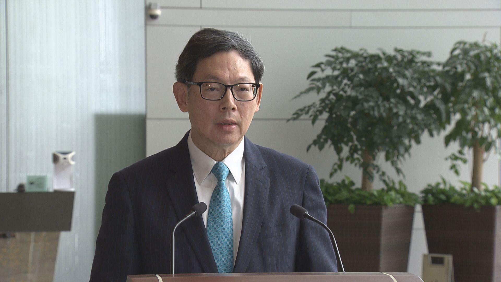 【不獲續任】金管局總裁陳德霖10月1日退休