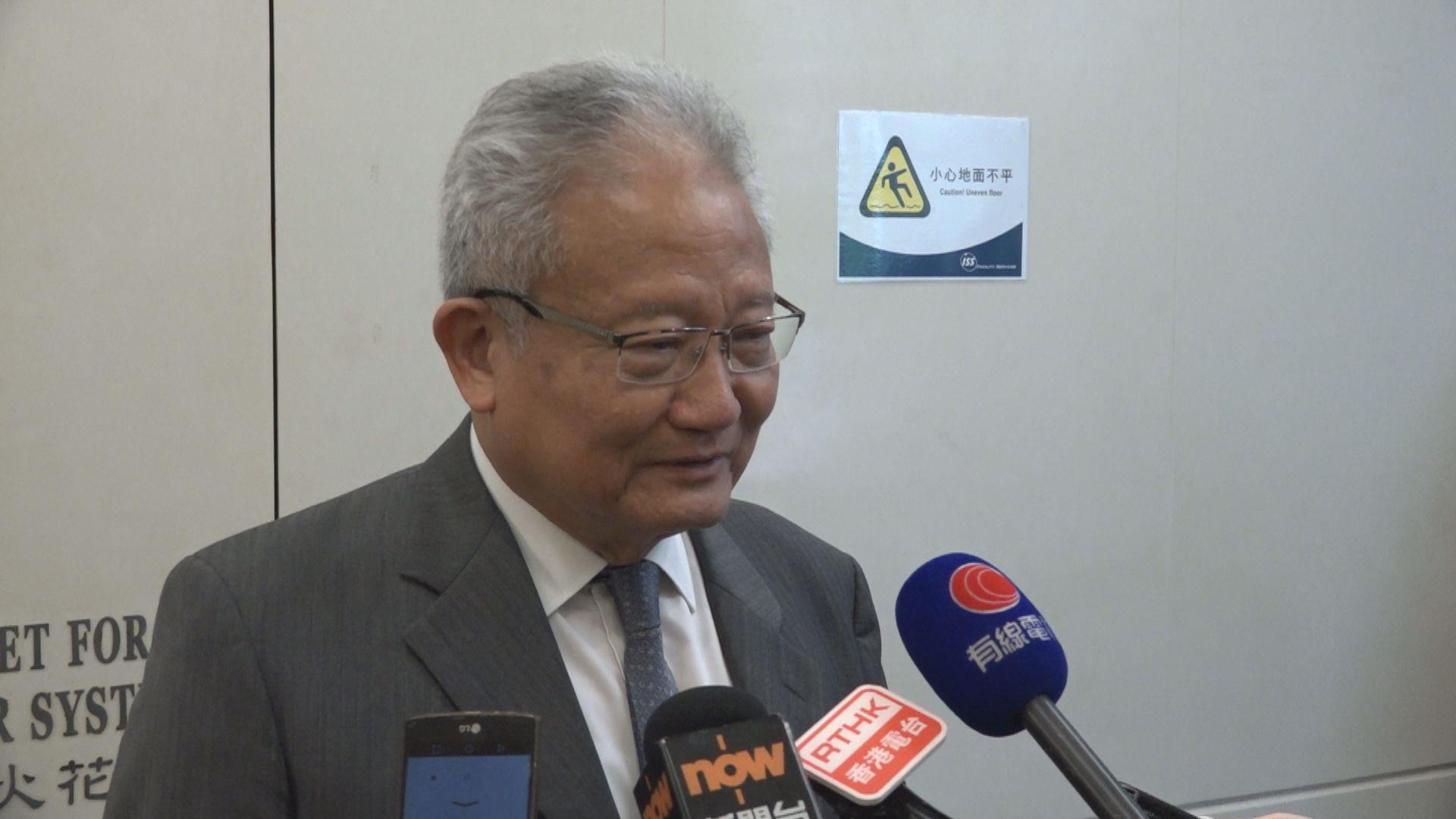 【關稅地位】商會:香港影響不大 鍾國斌:或成中美角力犧牲品