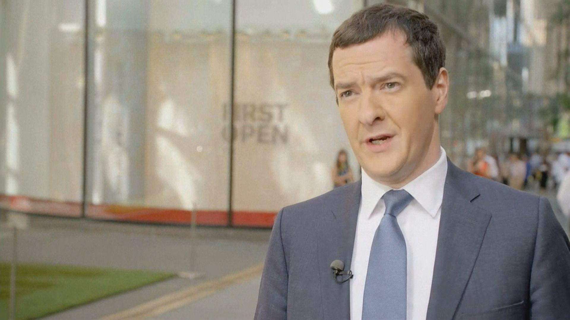 【IMF總裁爭奪戰】據報英國前財長歐思邦有意競逐