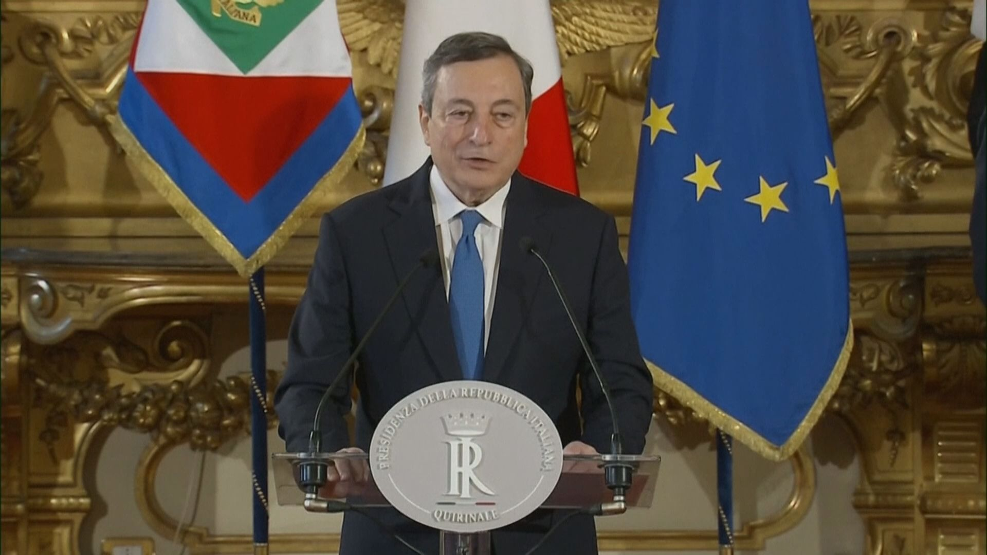 ECB前行長德拉吉籌組意國新政府