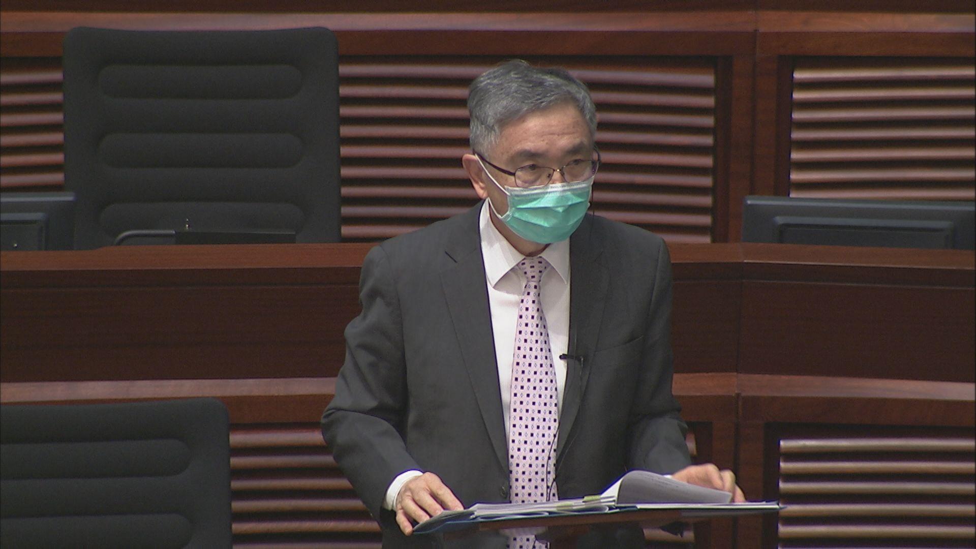 【口罩累事】劉怡翔在立法會答非所問 他否認睡着