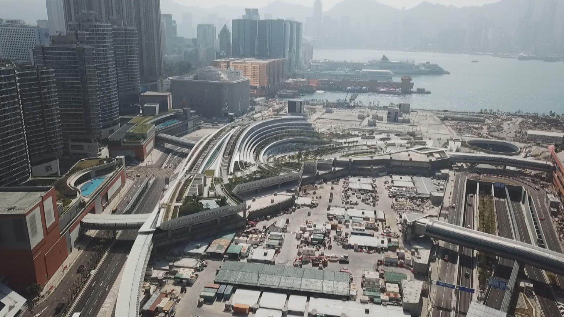 【新地王】新地逾422億元奪西九高鐵站商業地