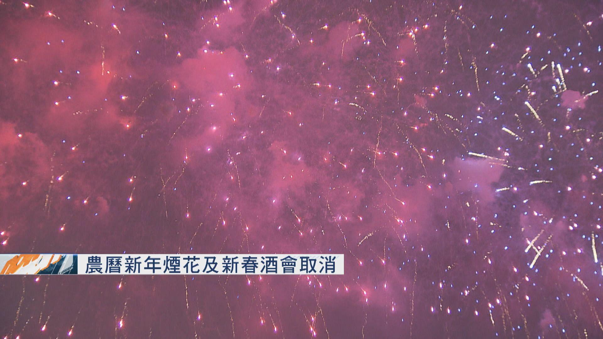 政府取消農曆新年煙花匯演及元宵綵燈會
