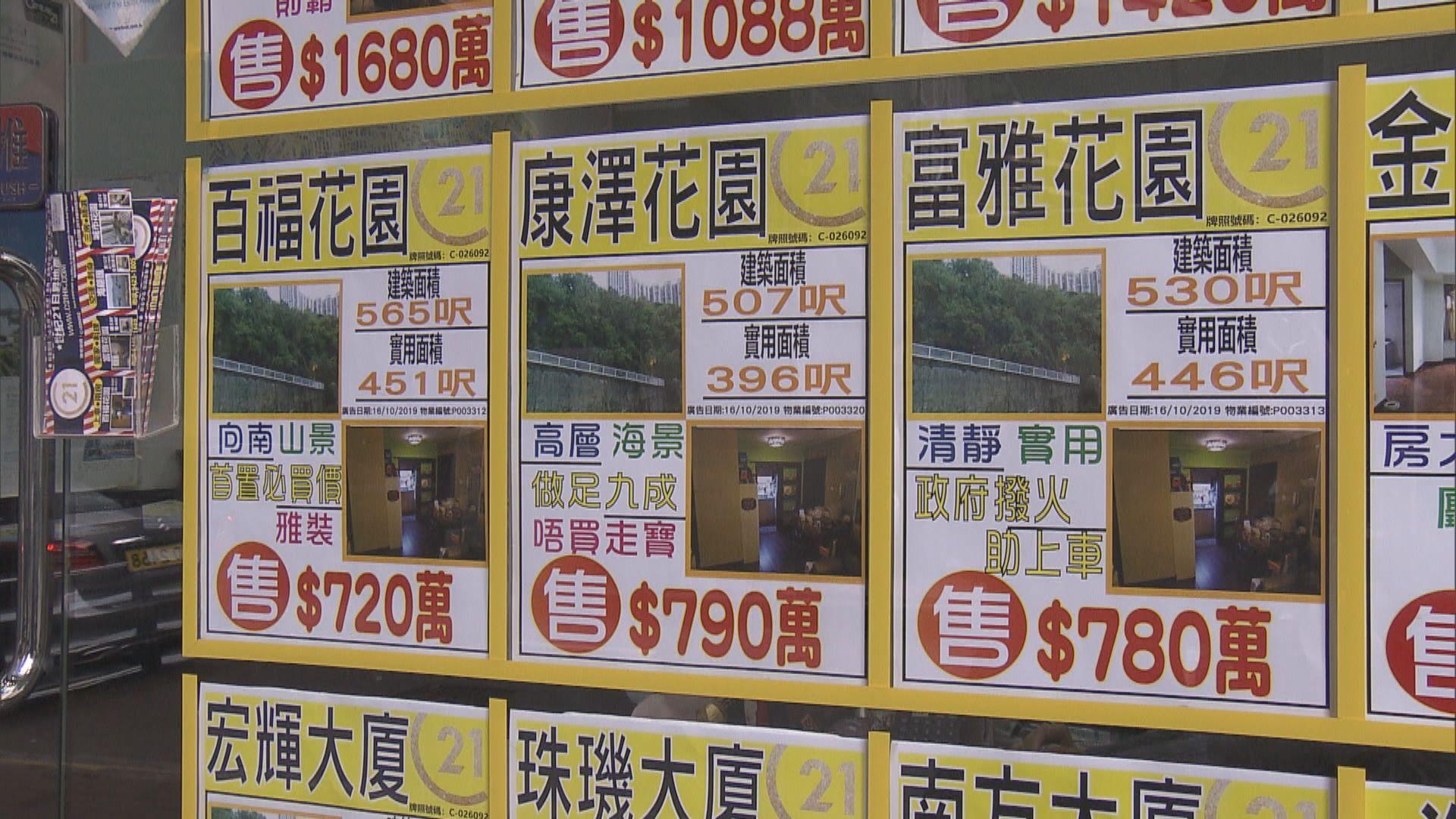 【放寬按揭】多區有放盤業主反價封盤