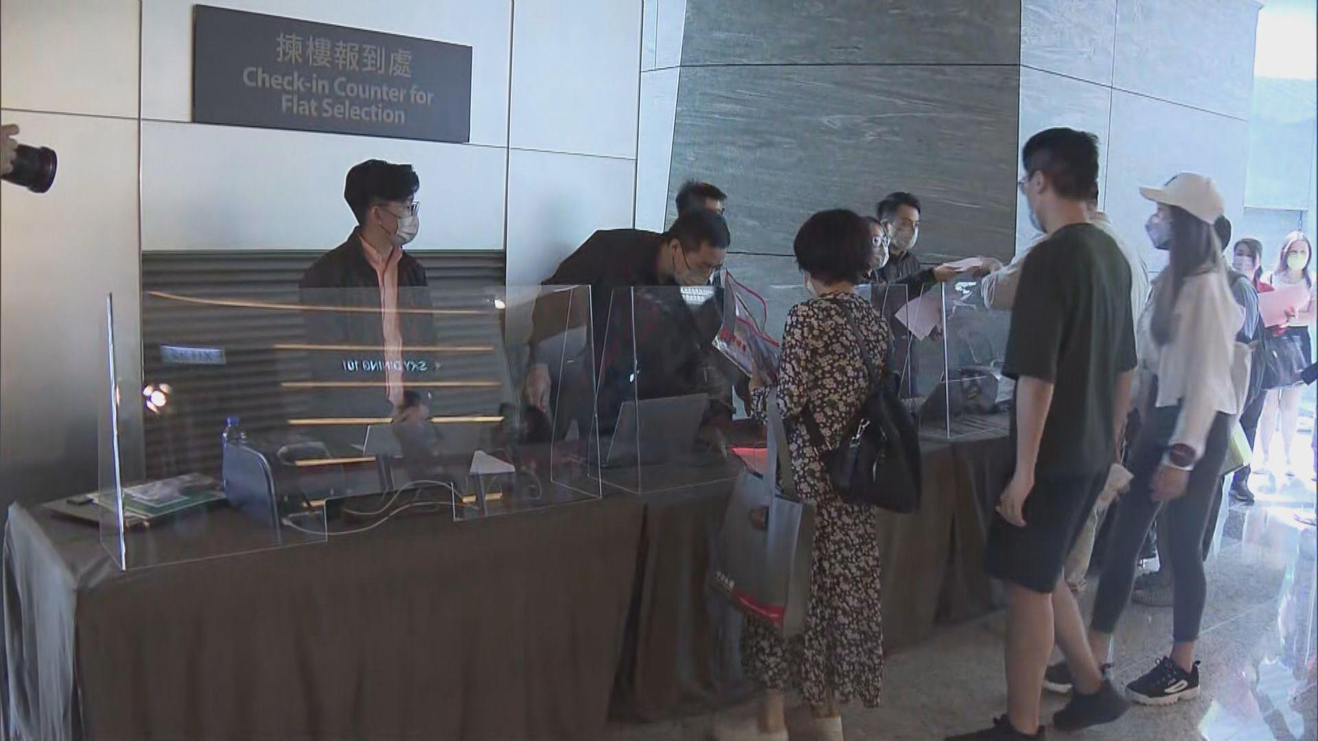 黃竹坑站晉環提價6%加推80伙  暫收逾2500票