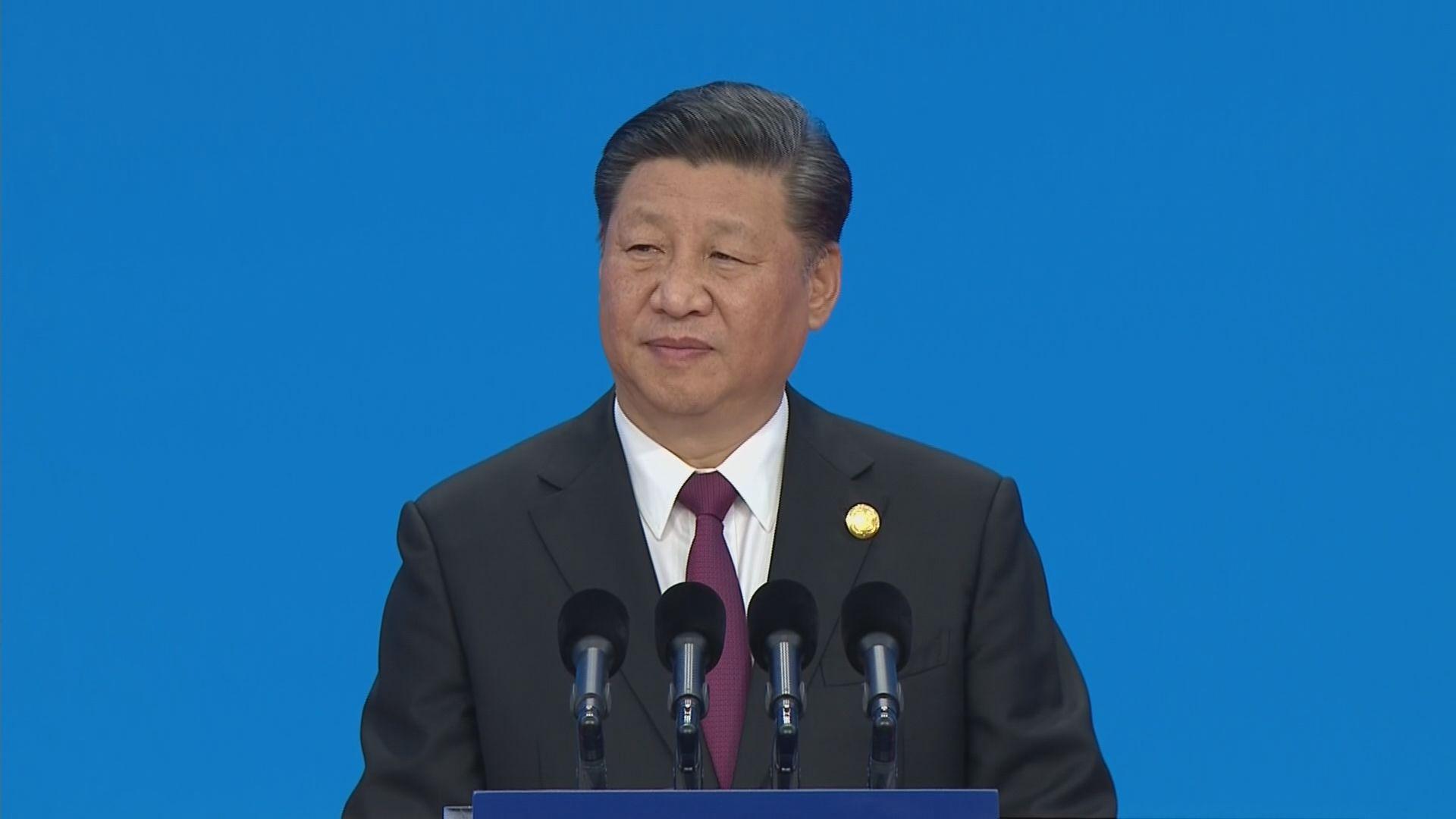 【進博會開幕】習近平:中國會持續放寬市場准入