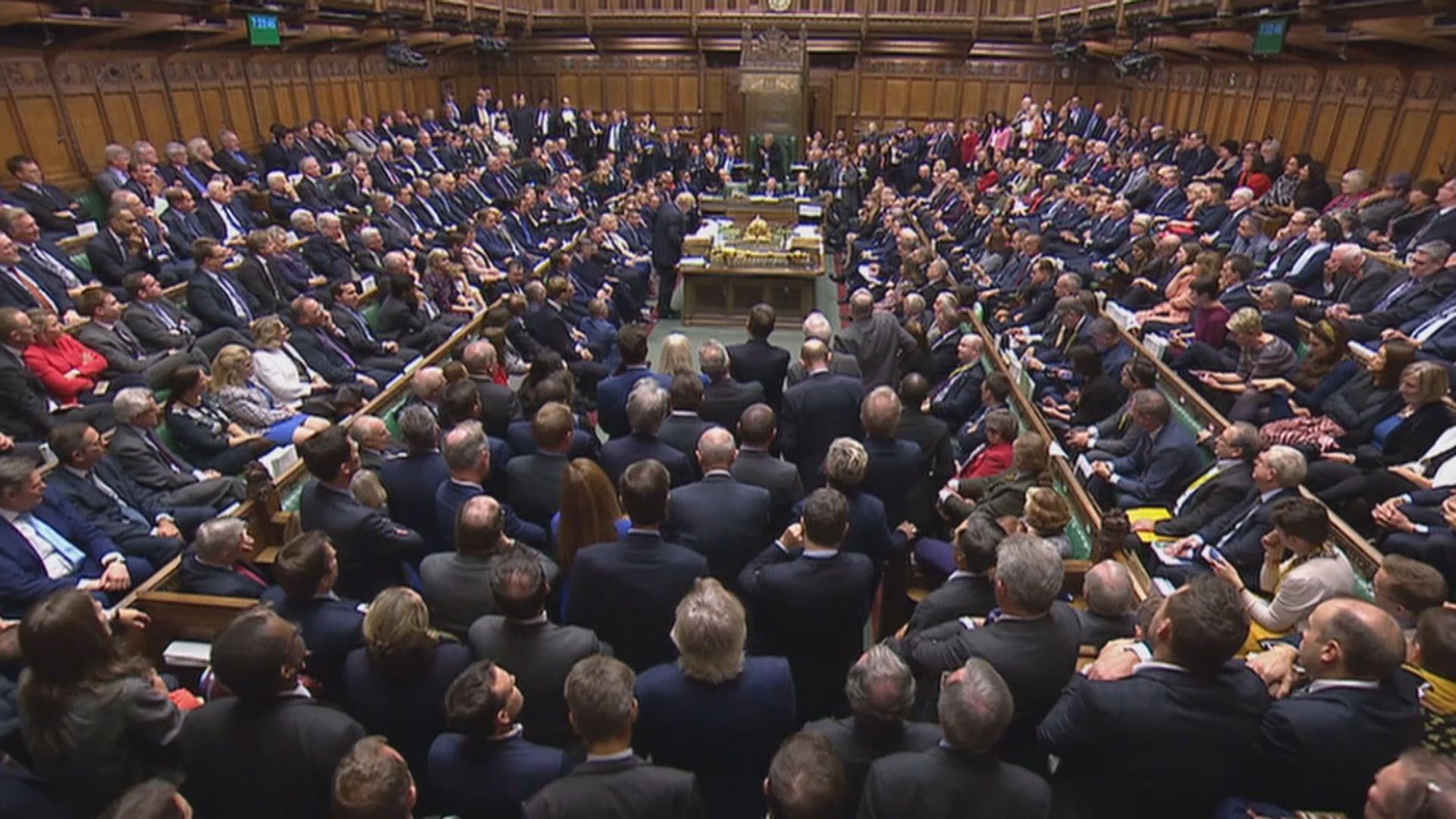 【脫歐僵局】英國下議院否決加快審議脫歐法案