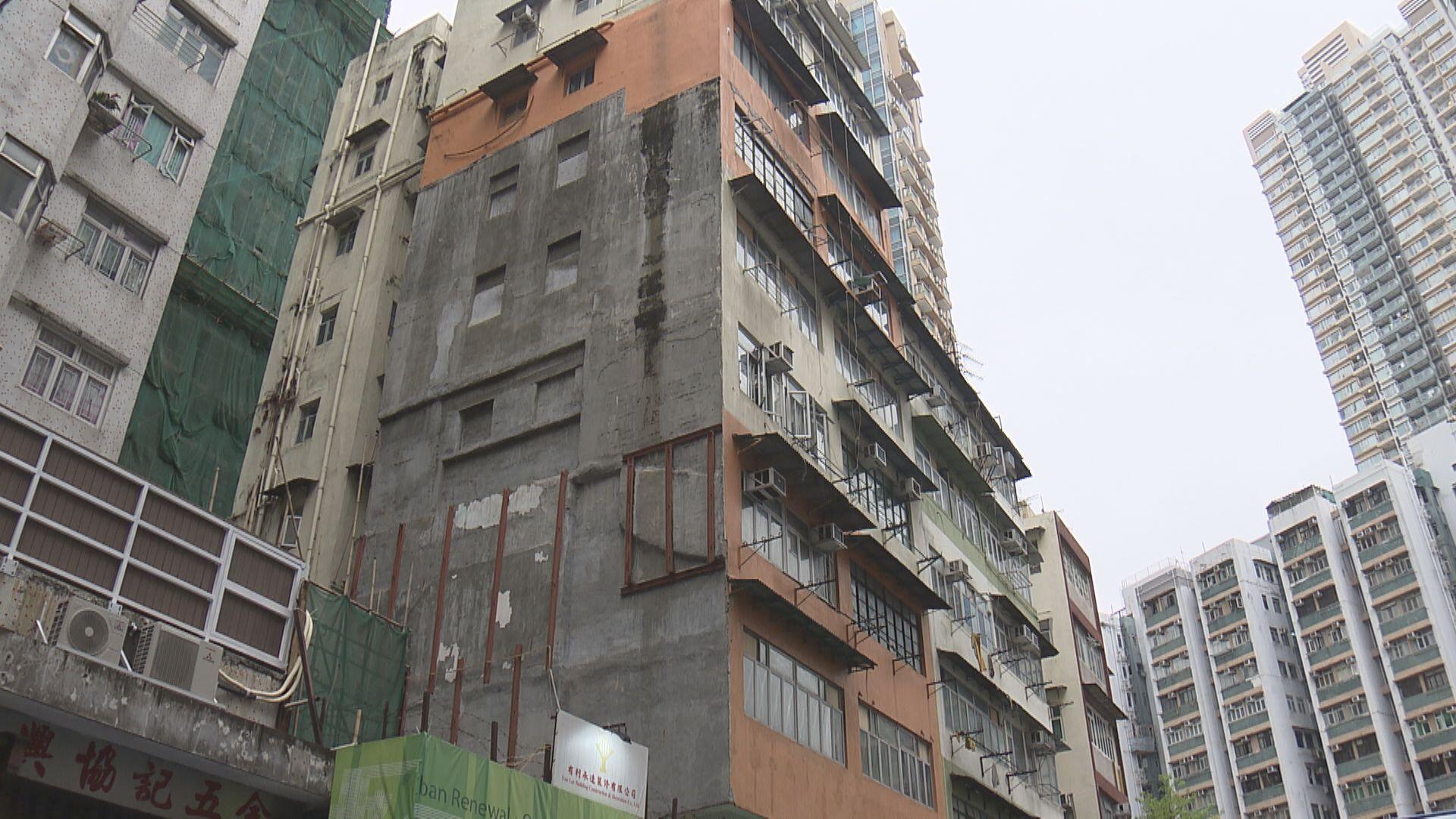 市建局大角咀項目收41意向  歷來第2多