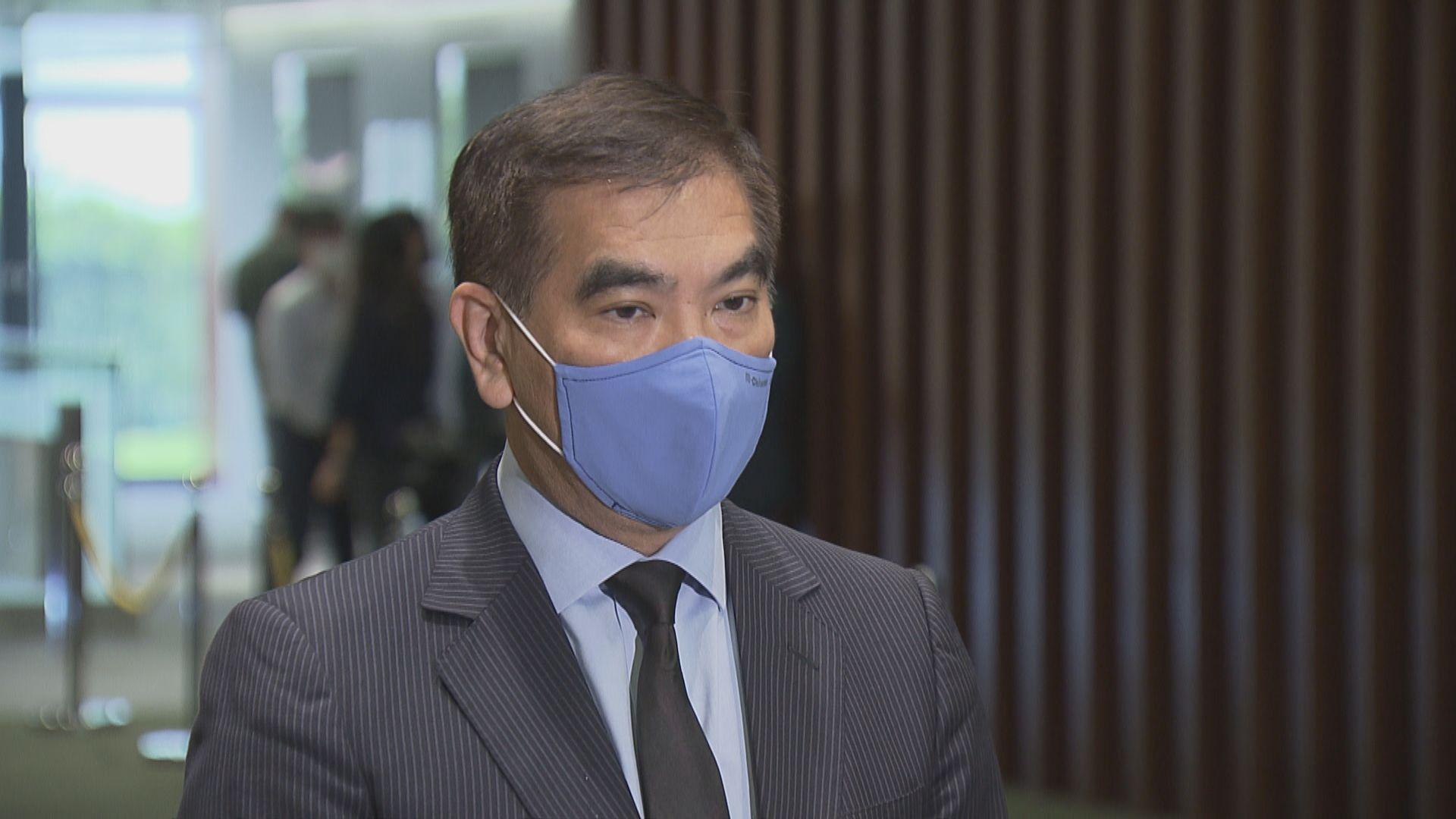 鍾國斌:商界憂慮美國考慮終止給予香港特殊待遇