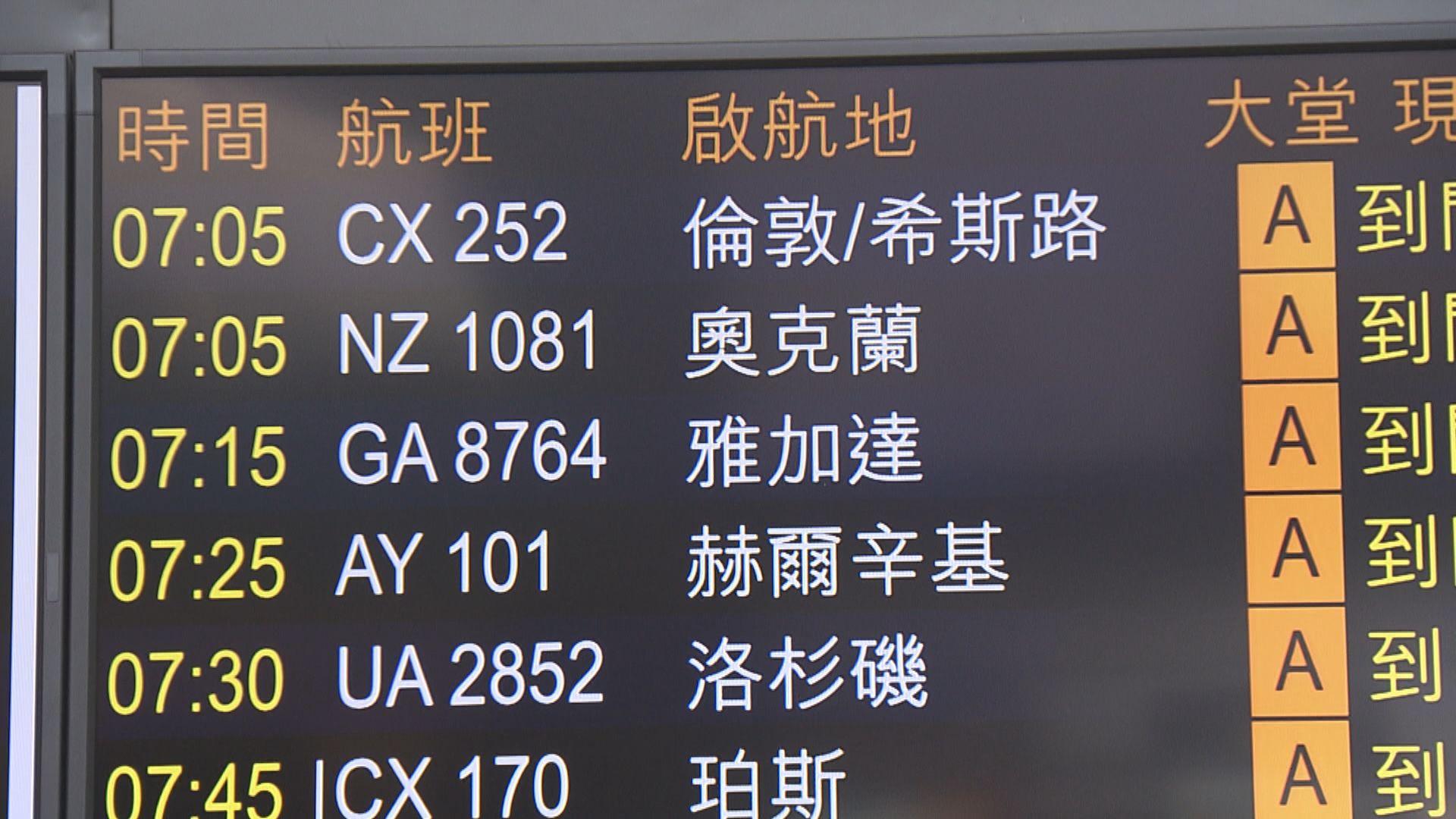 午夜起禁英航班來港 晚市禁堂食等延至1月6日