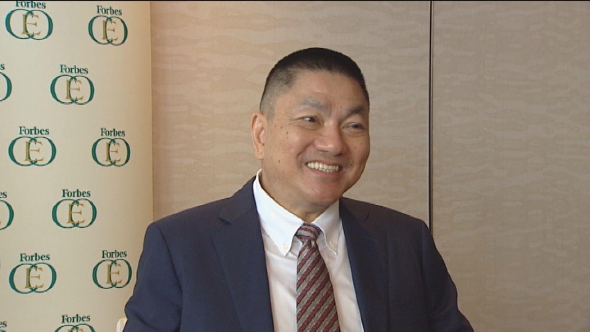 惠理謝青海:即使中美「脫鈎」 中國仍有龐大商機