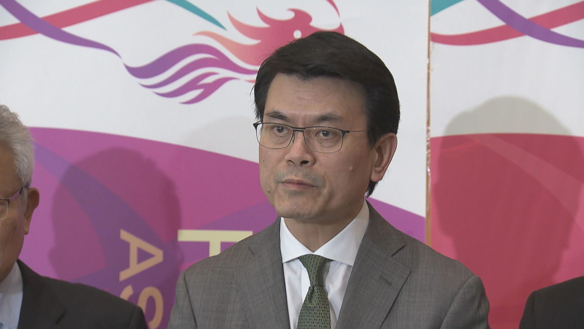 【中美互加關稅】邱騰華:港下半年經濟衰退憂慮增