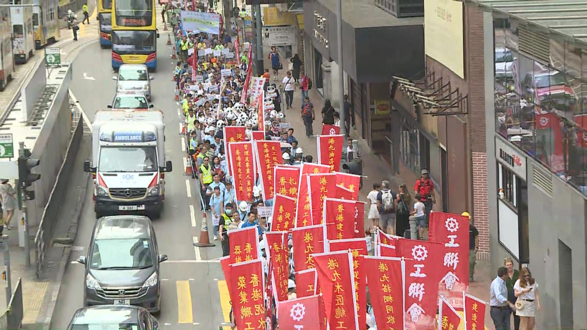 工聯會促政府就颱風過後停工安排立法