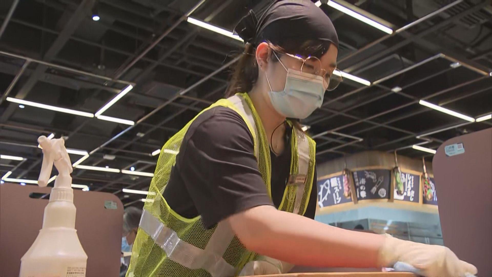食肆明起需設「執枱專員」 小店稱難覓專人惟加強清潔