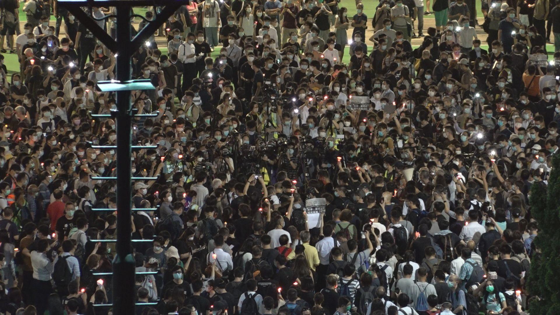支聯會就警方反對六四遊行及燭光集會上訴