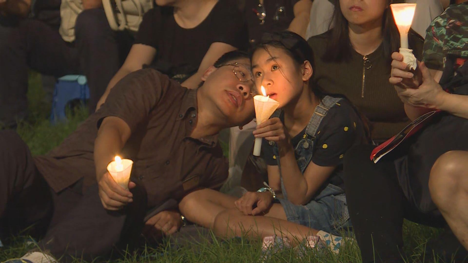 【六四晚會】有市民帶同下一代出席:公義仍未彰顯
