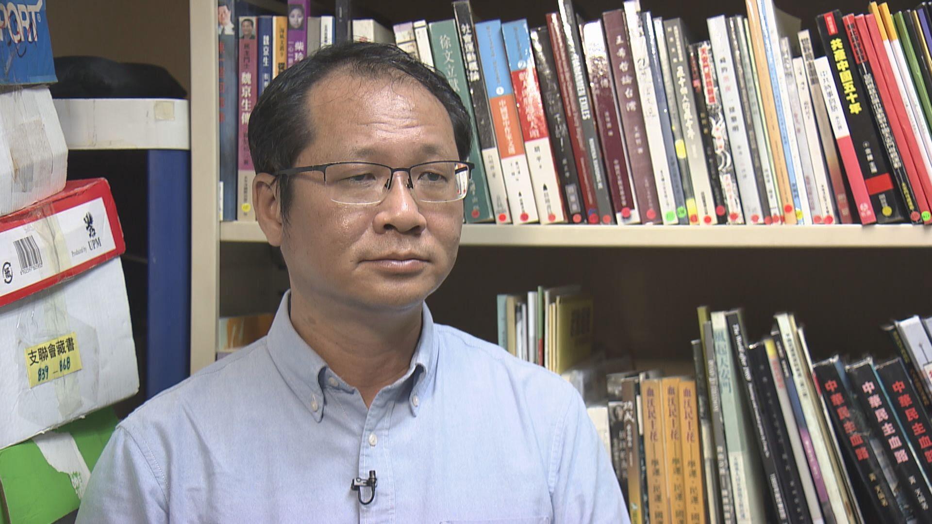 蔡耀昌:田飛龍應提供更多法律依據