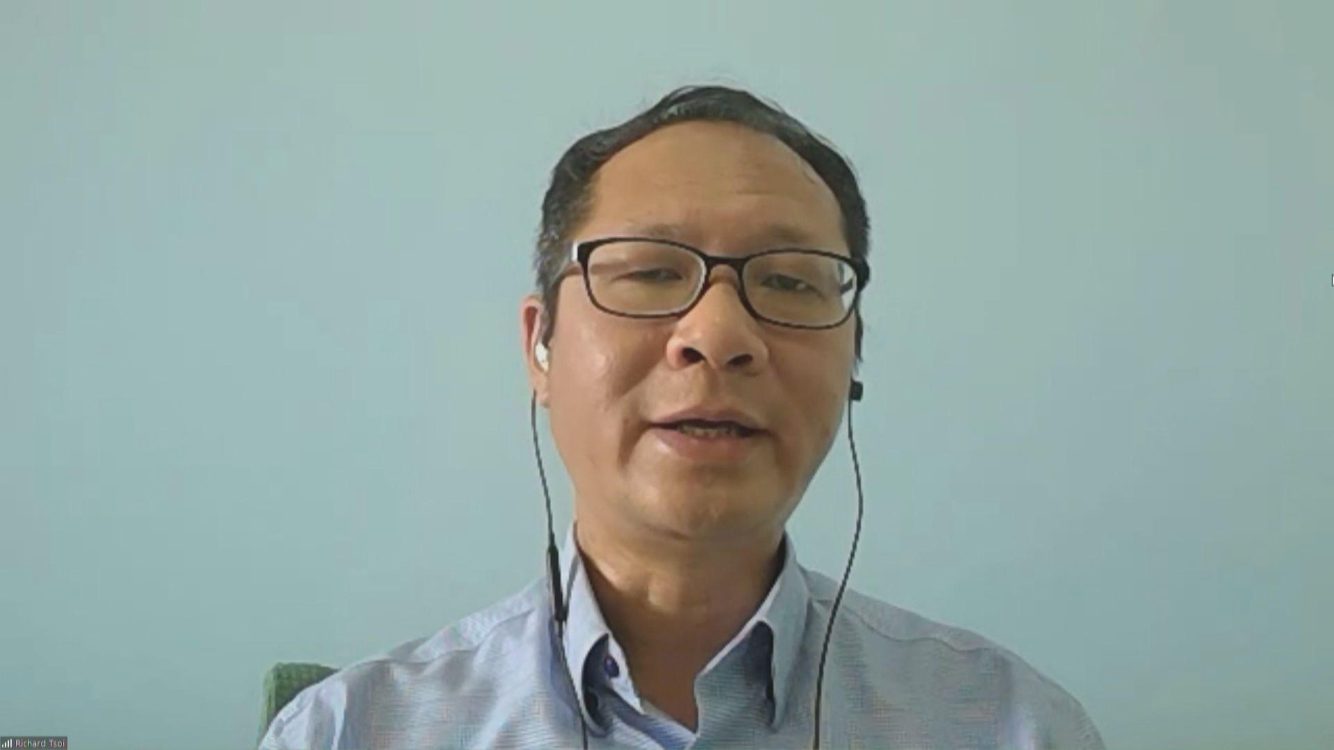 蔡耀昌:料「恐嚇」陸續有來 支聯會會堅持到底