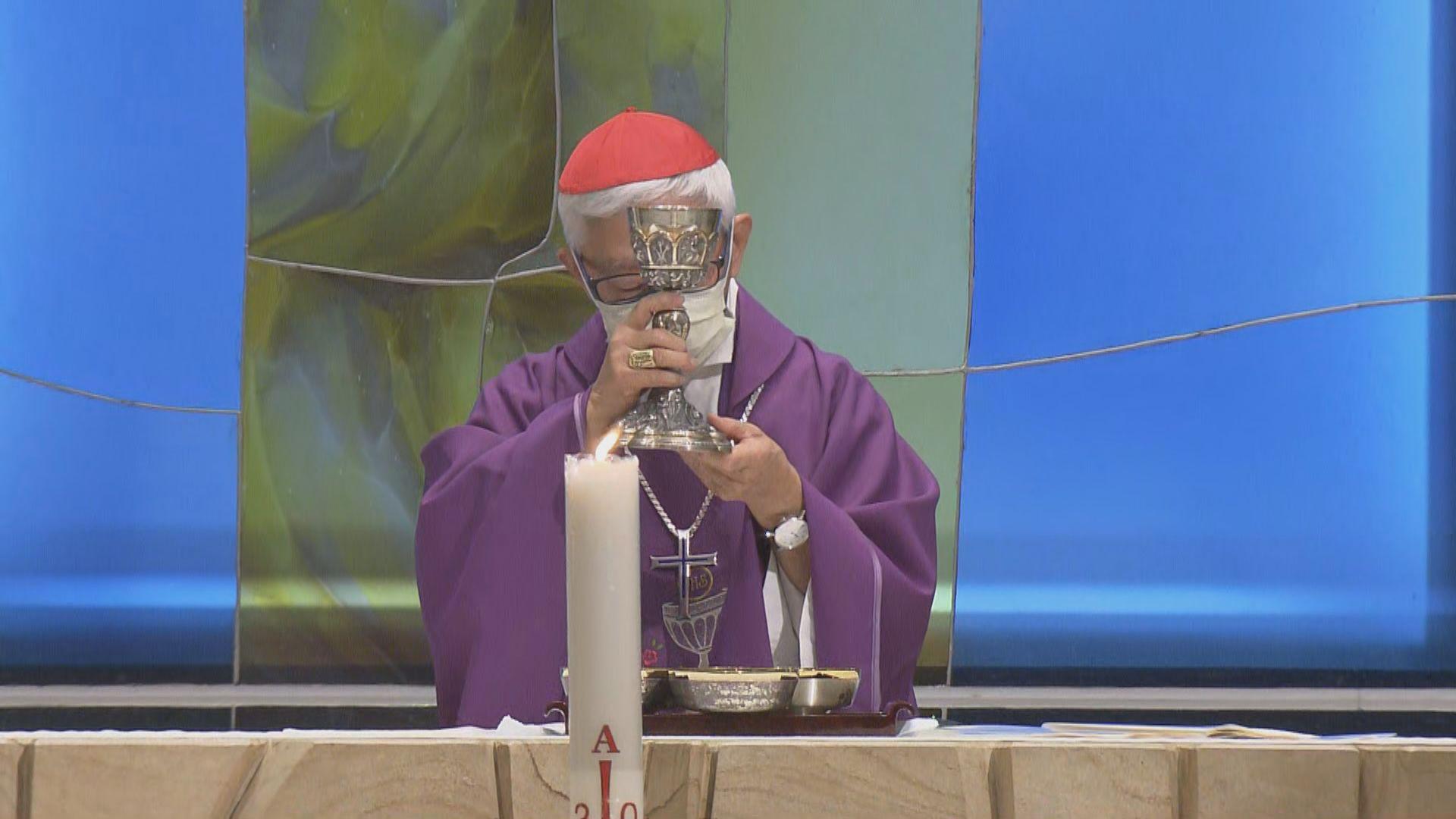 七間天主教聖堂舉行六四追思彌撒