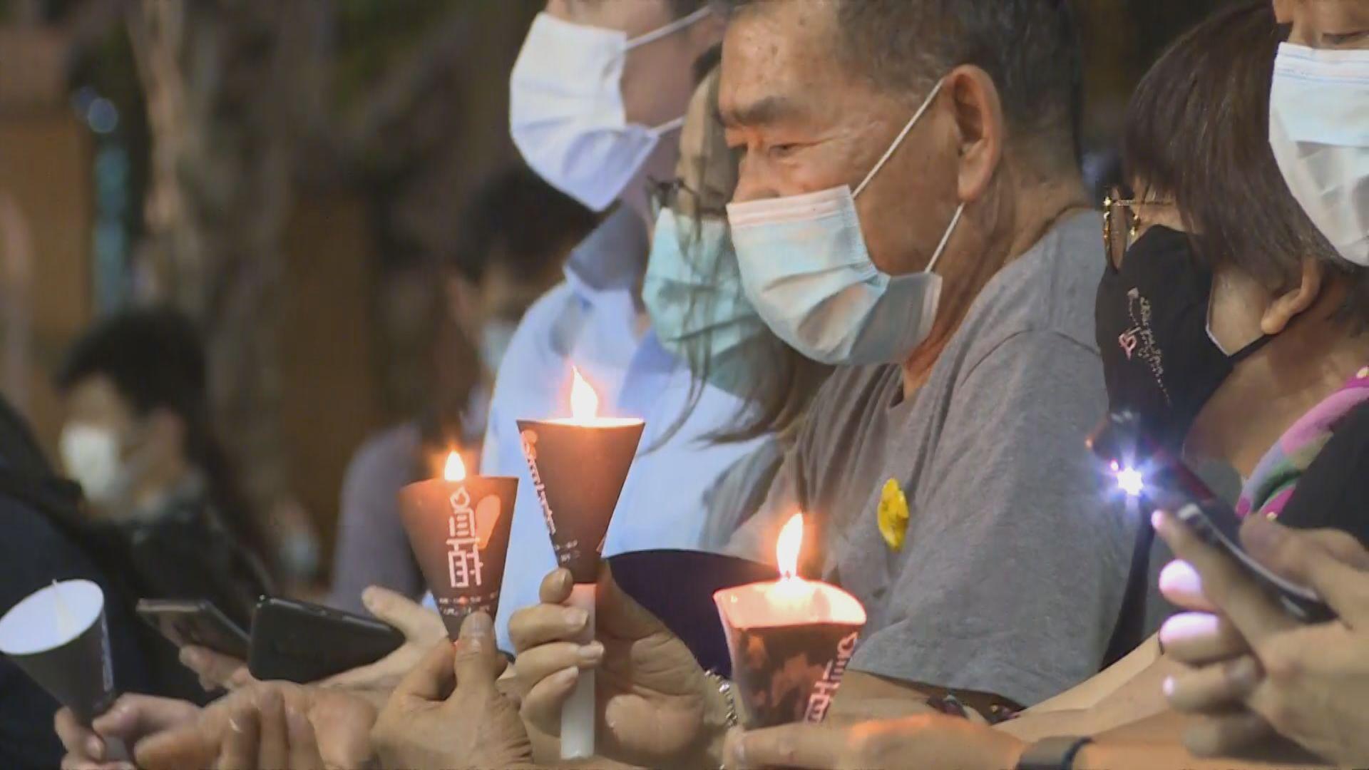 維園六四燭光悼念 參加者企滿五個足球場