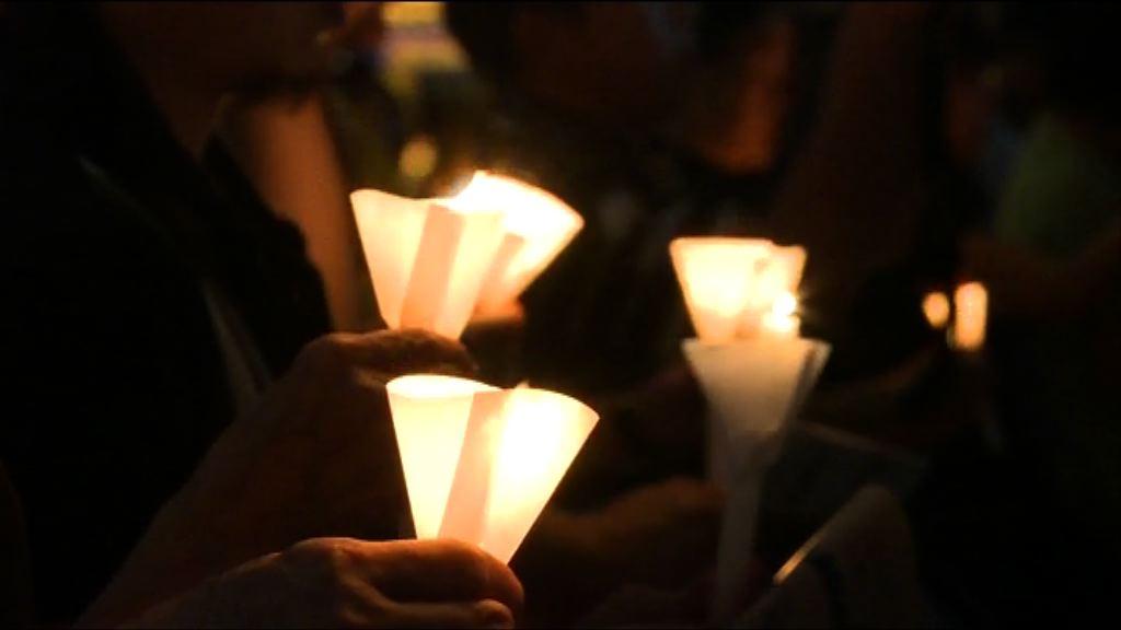 維園悼念六四晚會11萬人參與