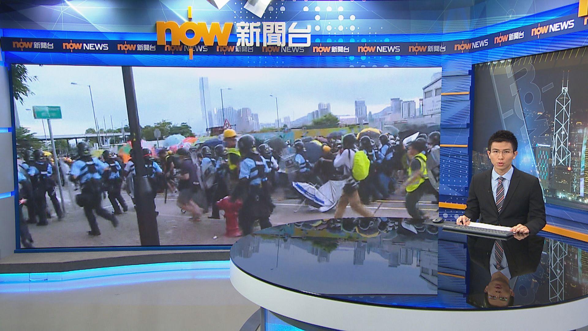【回歸22周年】七一升旗禮如常舉行 全日示威衝突未停