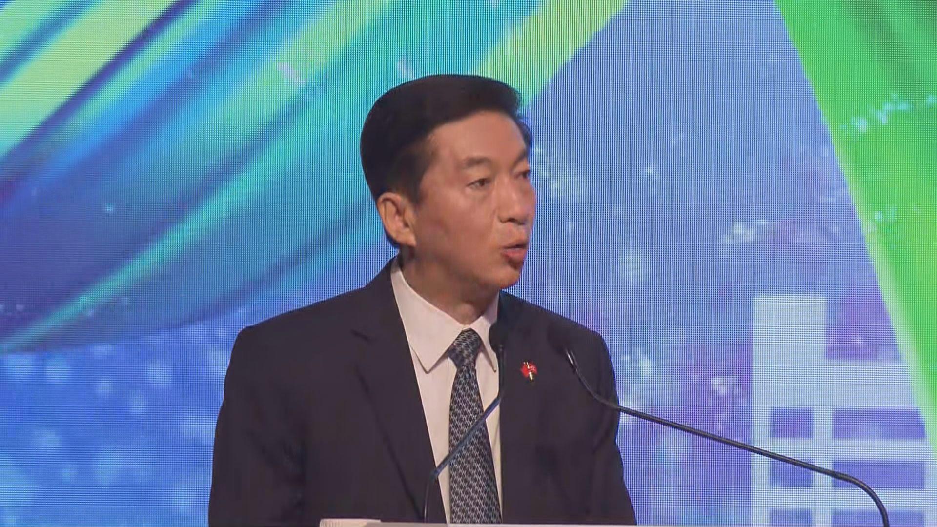 駱惠寧:國安法對危害國家安全的人是利劍
