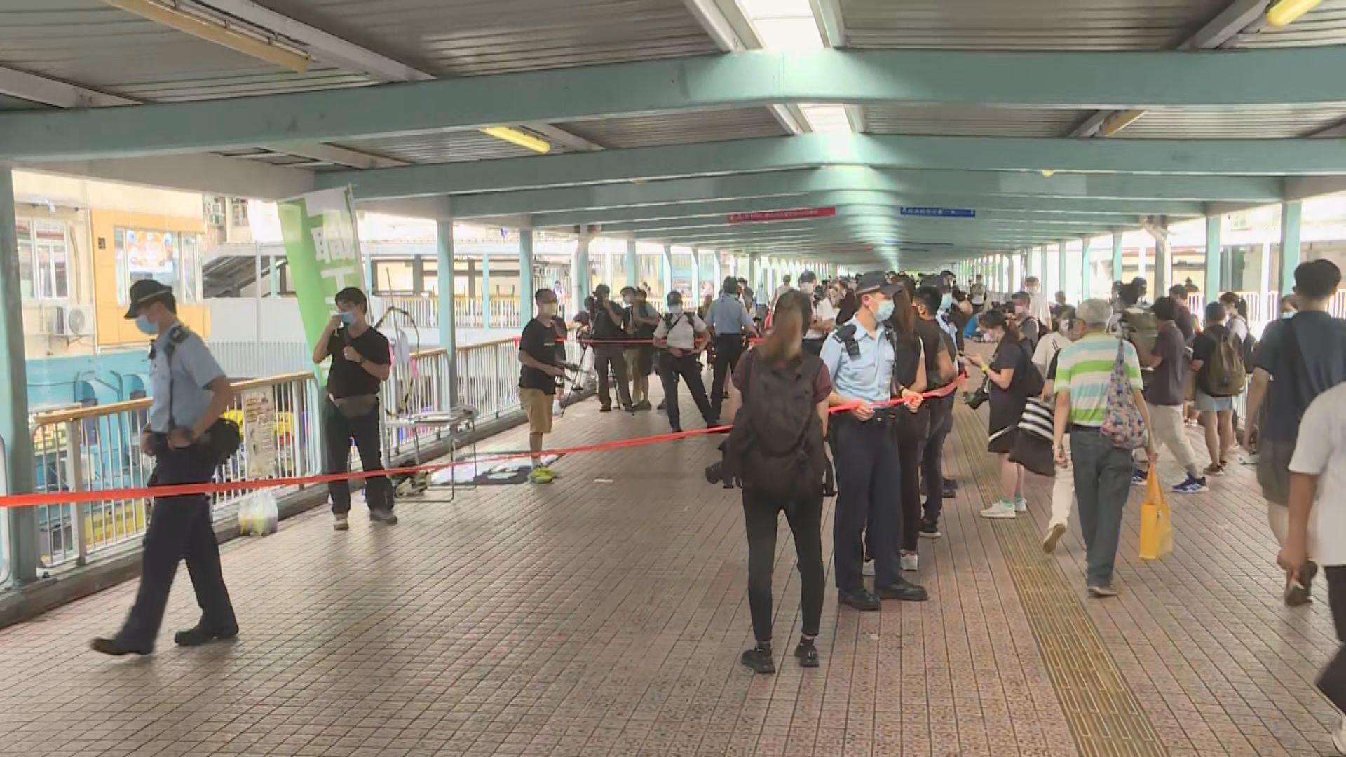 警方連續兩年反對七一遊行 警員銅鑼灣旺角戒備