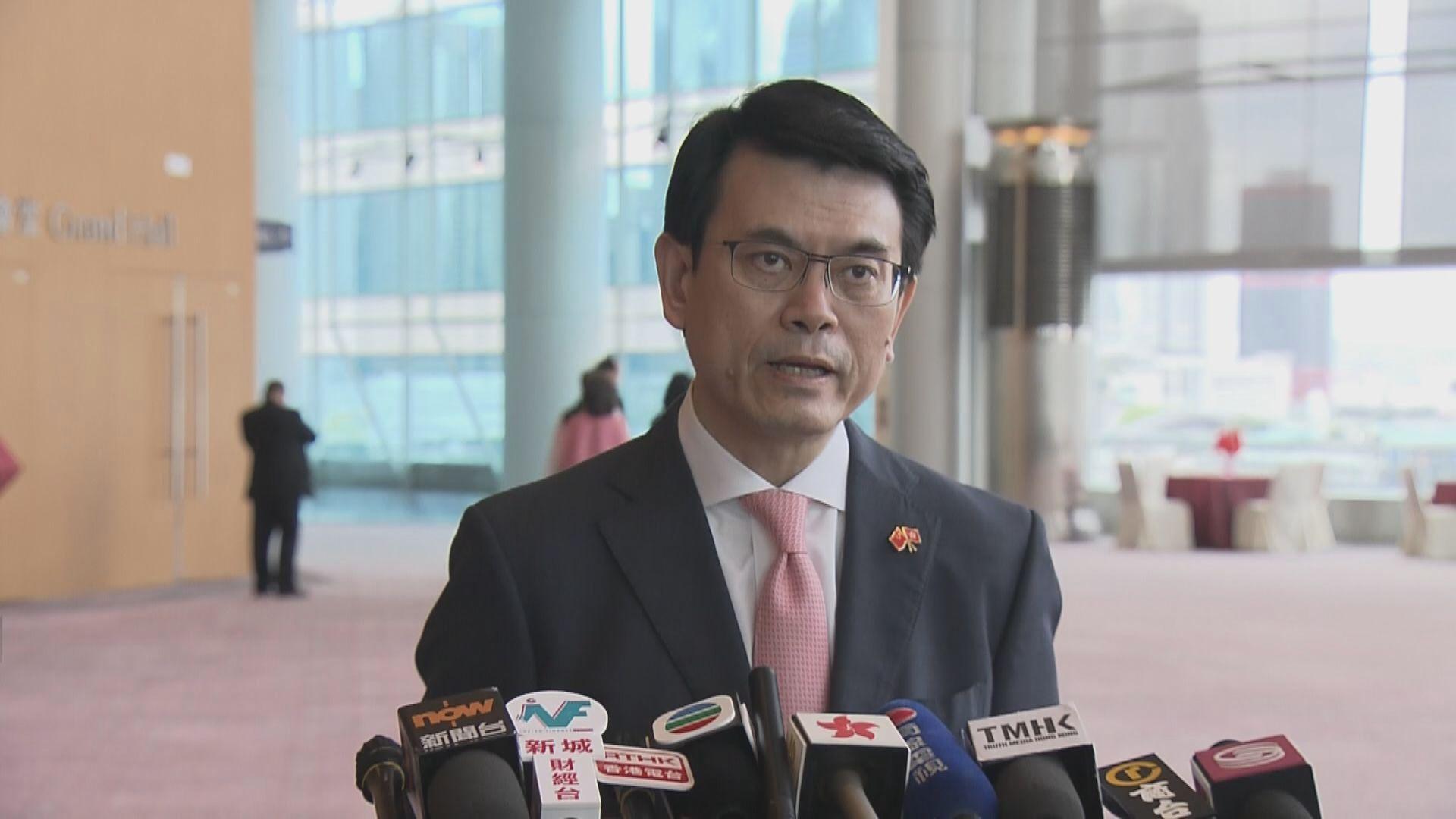 邱騰華:港區國安法為投資者帶來安穩信心