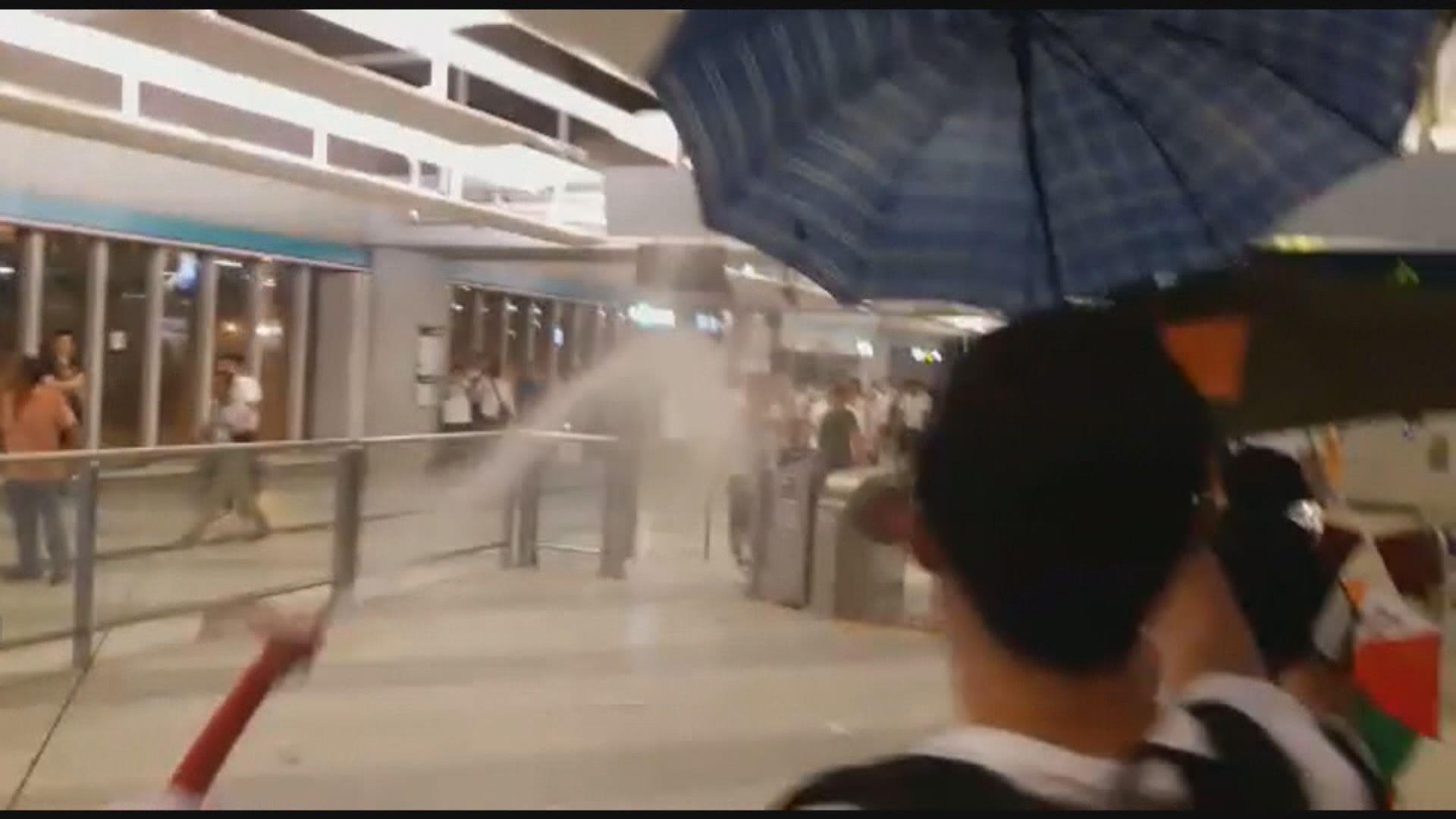 元朗721襲擊事件 警方再拘捕一名與白衣人對峙男子