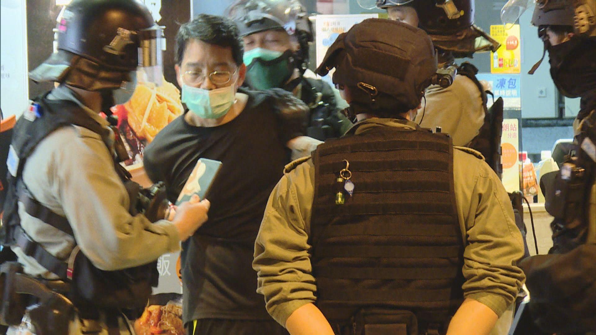721襲擊事件8個月 警方施放催淚彈並帶走多人